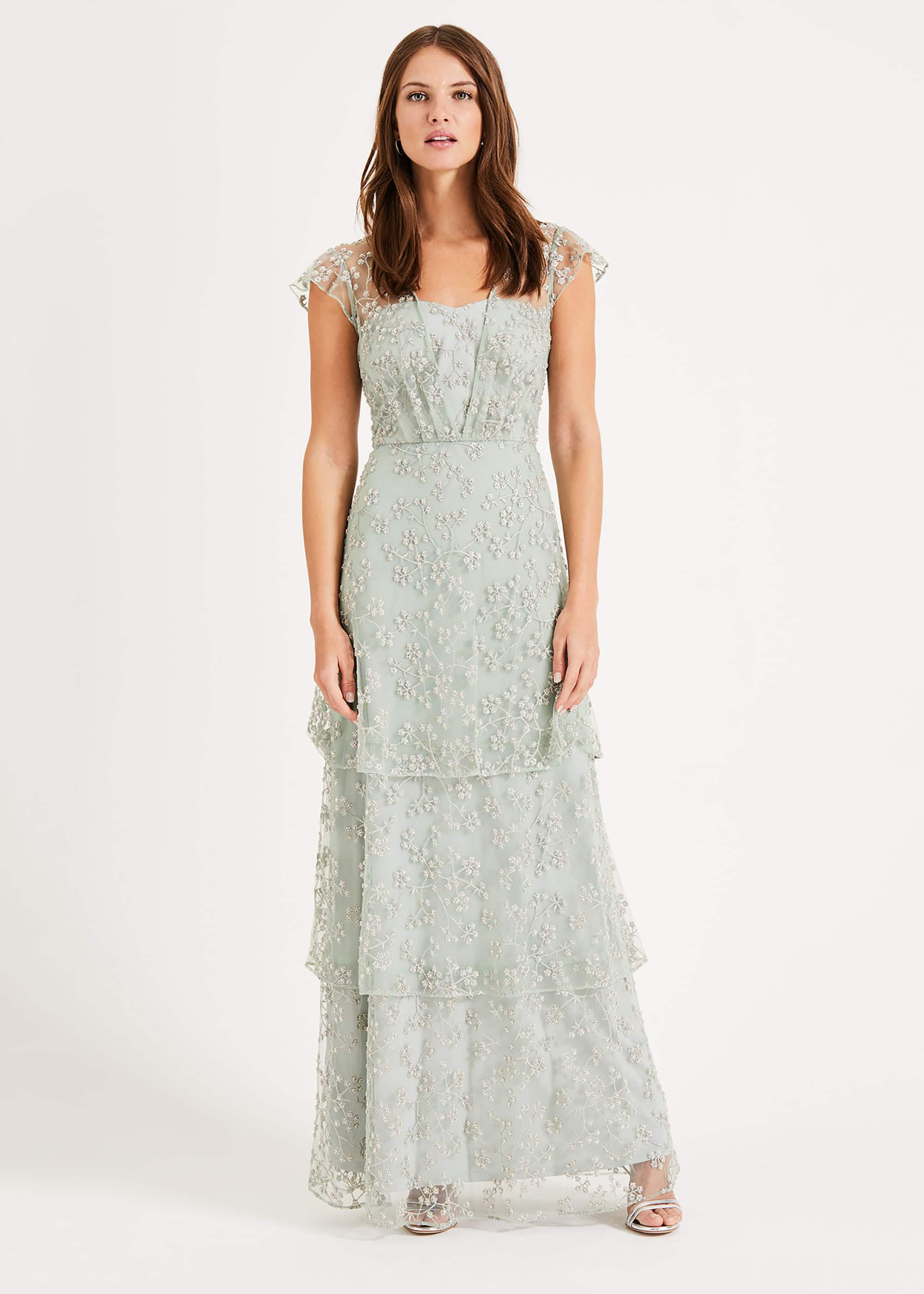 Phase Eight Women Rai Beaded Maxi Dress