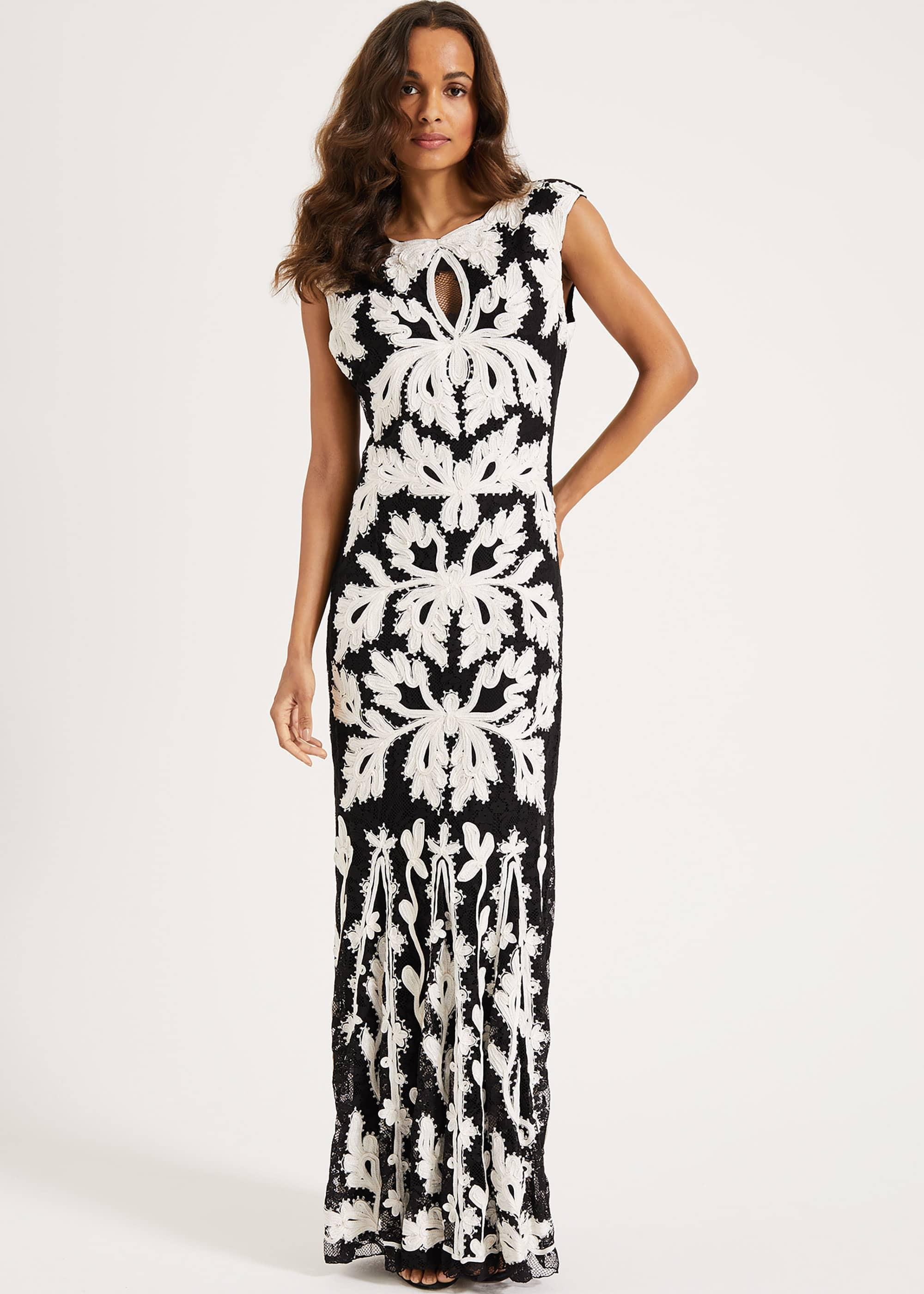 Phase Eight Women Paige Tapework Lace Maxi Dress