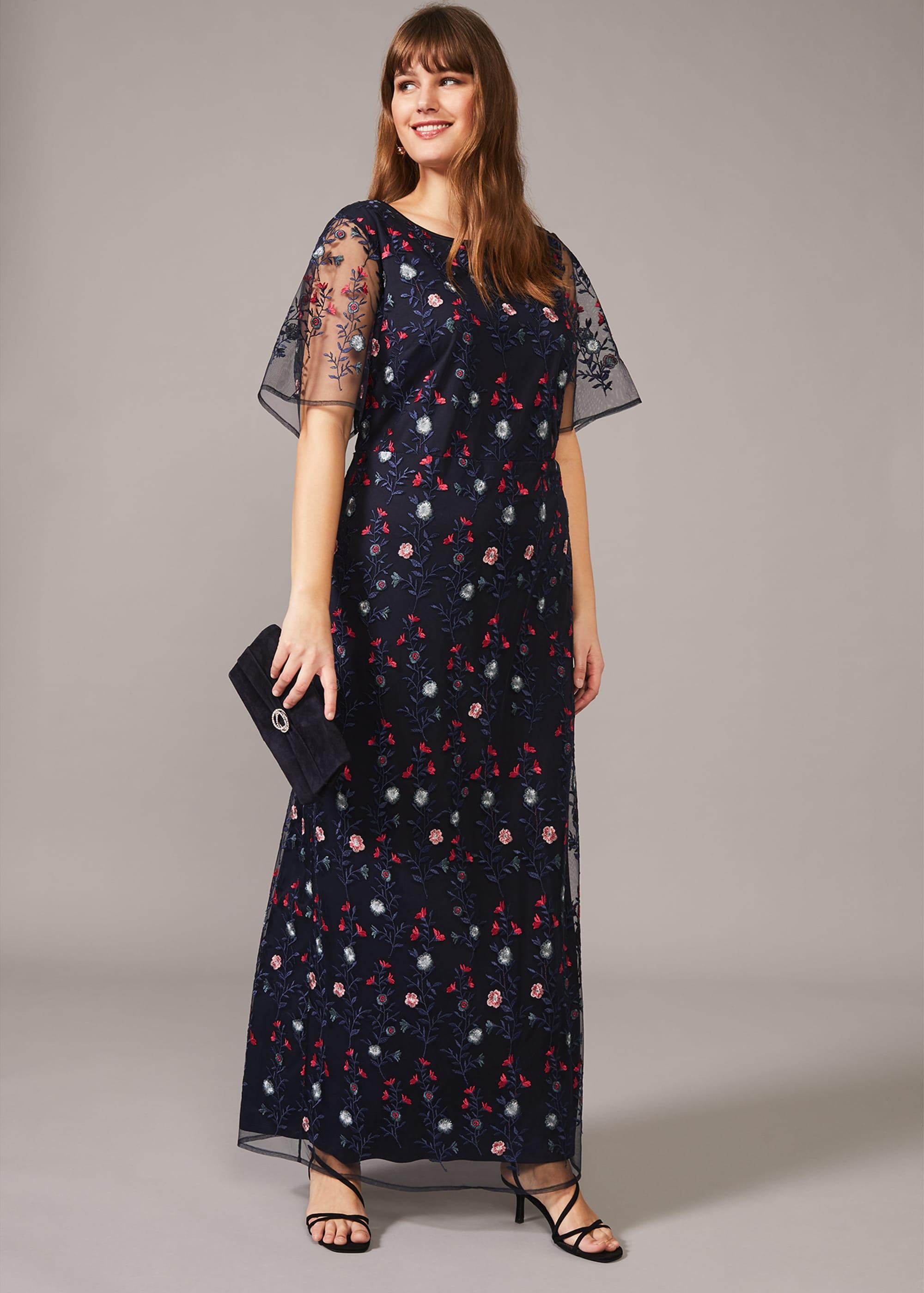Studio 8 Women Emily Embroidered Maxi Dress