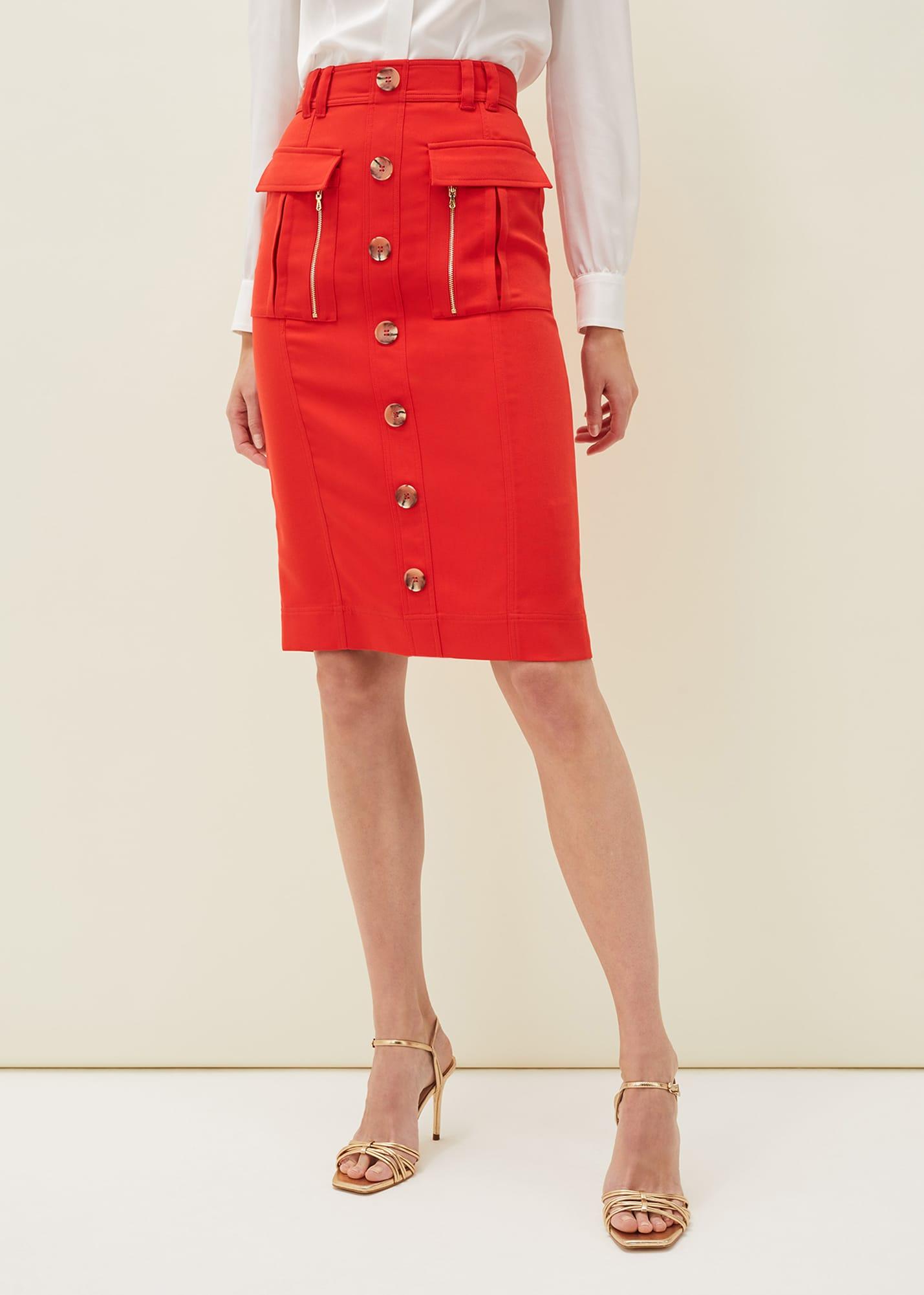 Damsel in a Dress Women Athena Zip Skirt