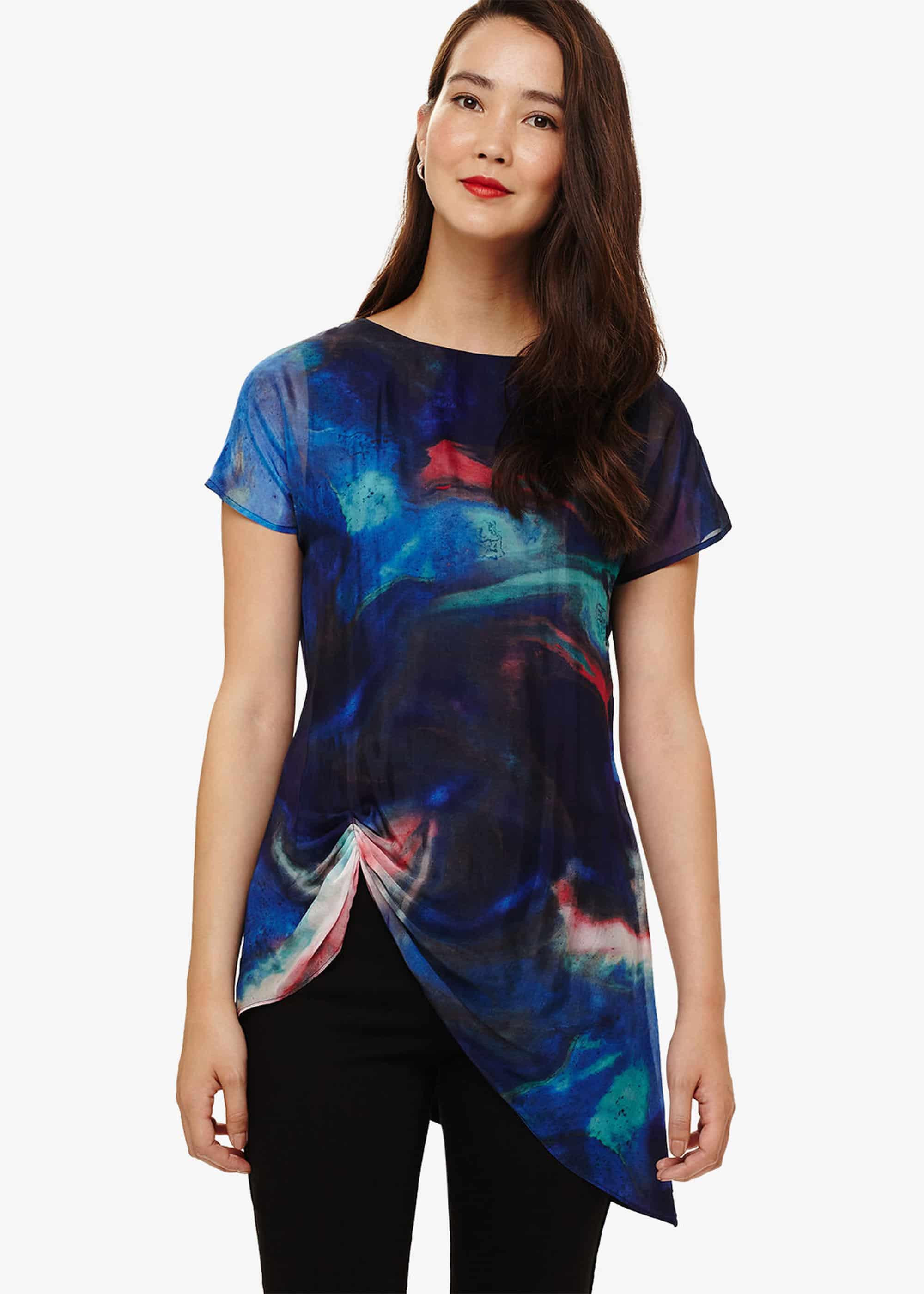Phase Eight Women Aurora Print Tunic Top