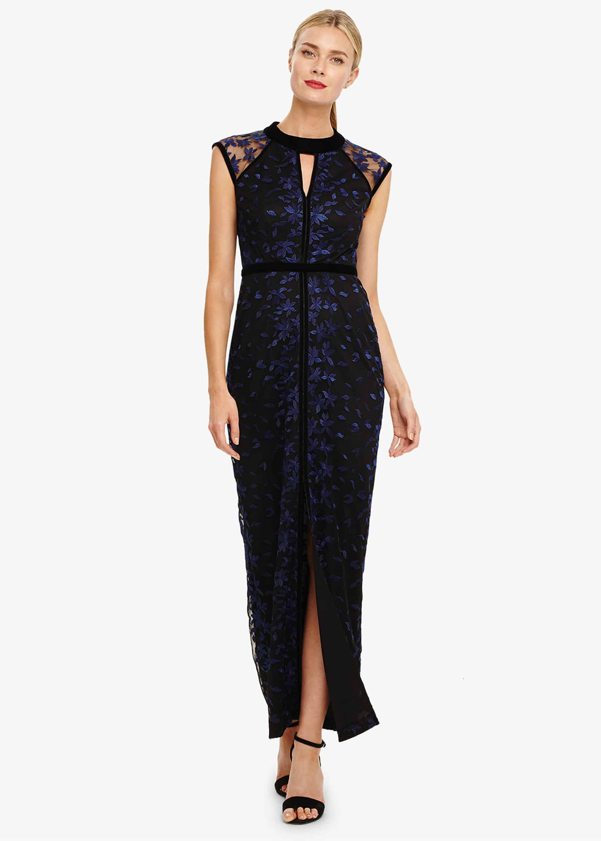 Phase Eight Women Elly Embroidered Maxi Dress