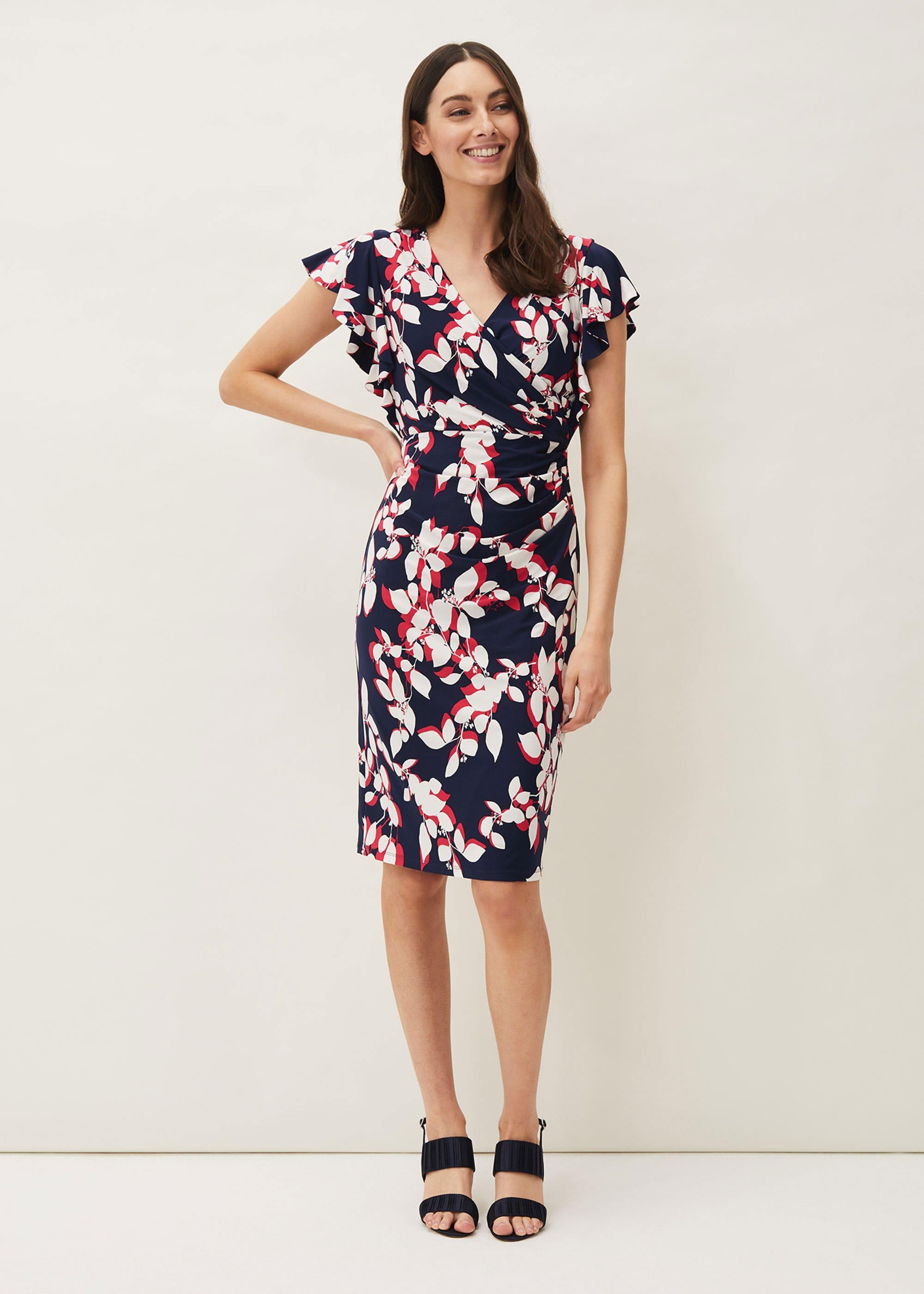 Phase Eight Women Helene Printed Jersey Dress
