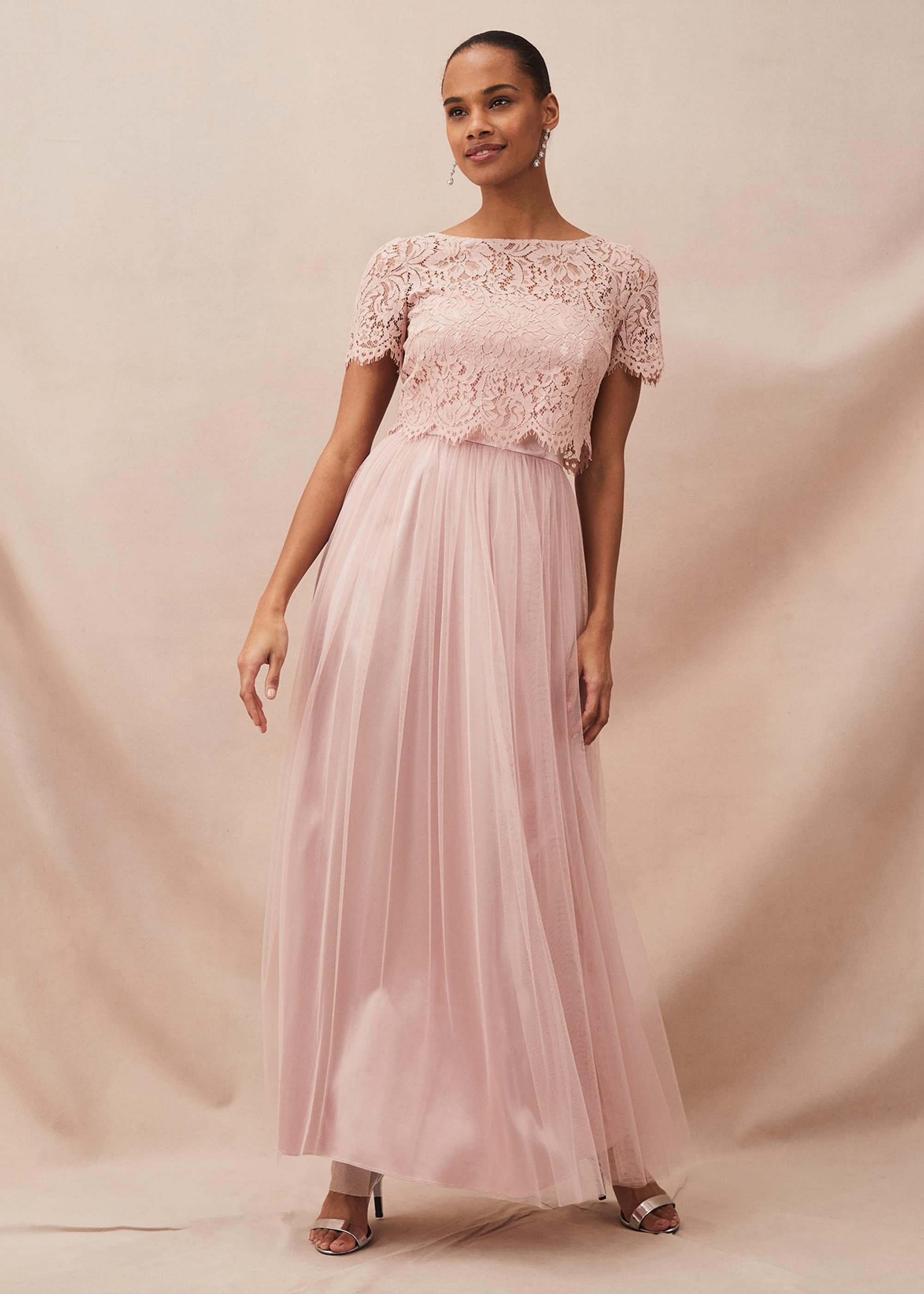 Phase Eight Women Kiera Lace Tulle Maxi Dress