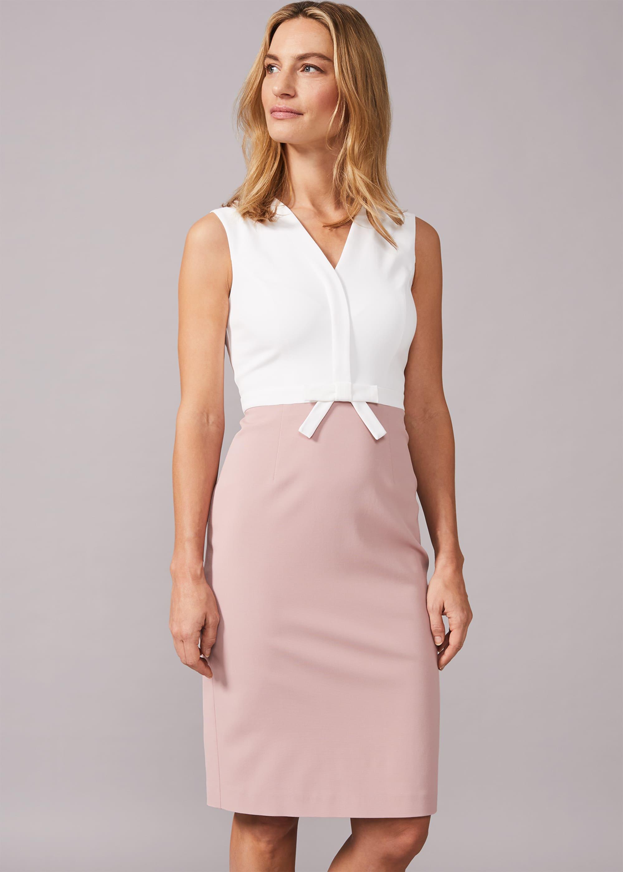 Phase Eight Women Loanne Bow Detail Dress