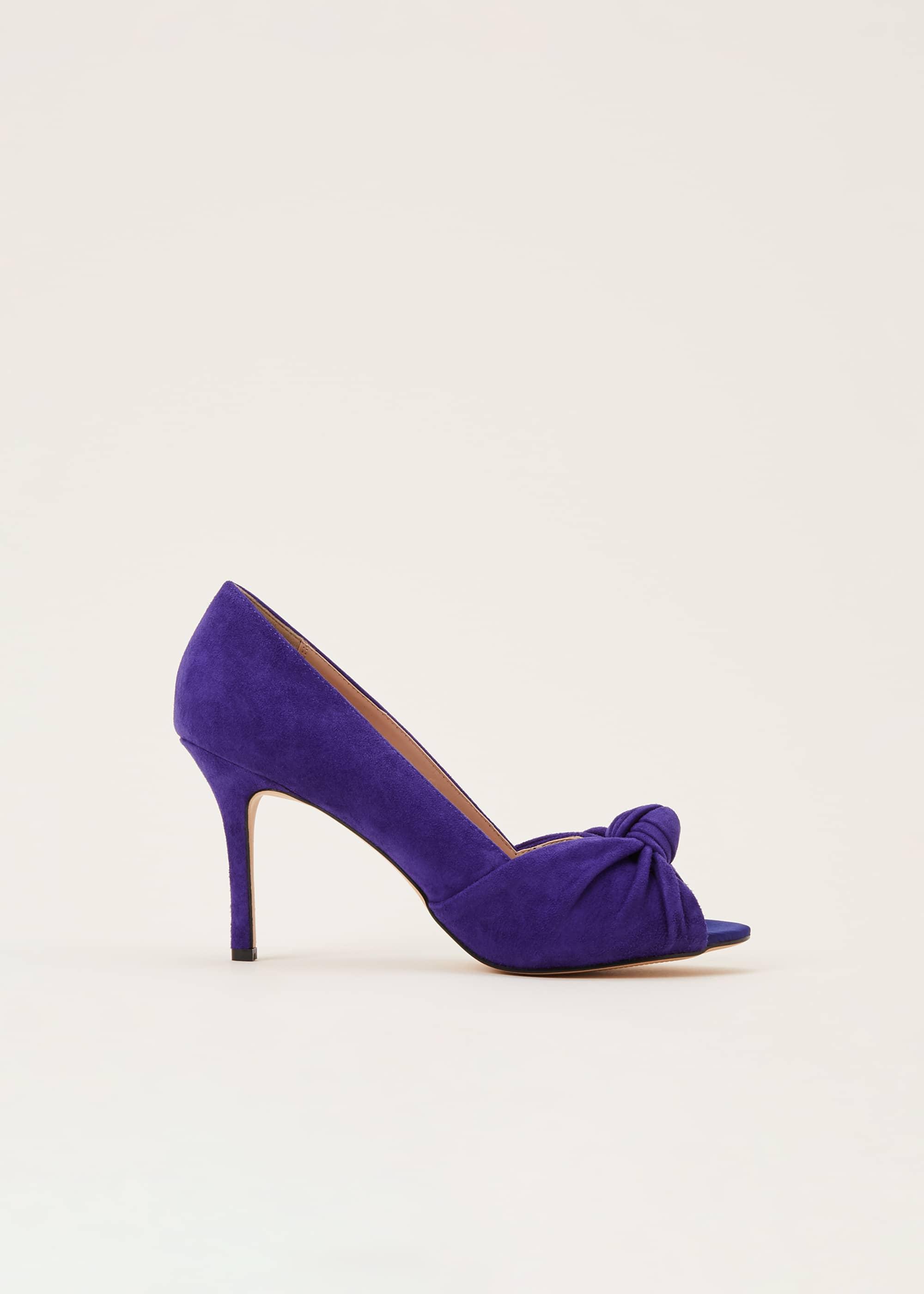 Phase Eight Women Sonja Knot Front Peep Toe Shoe