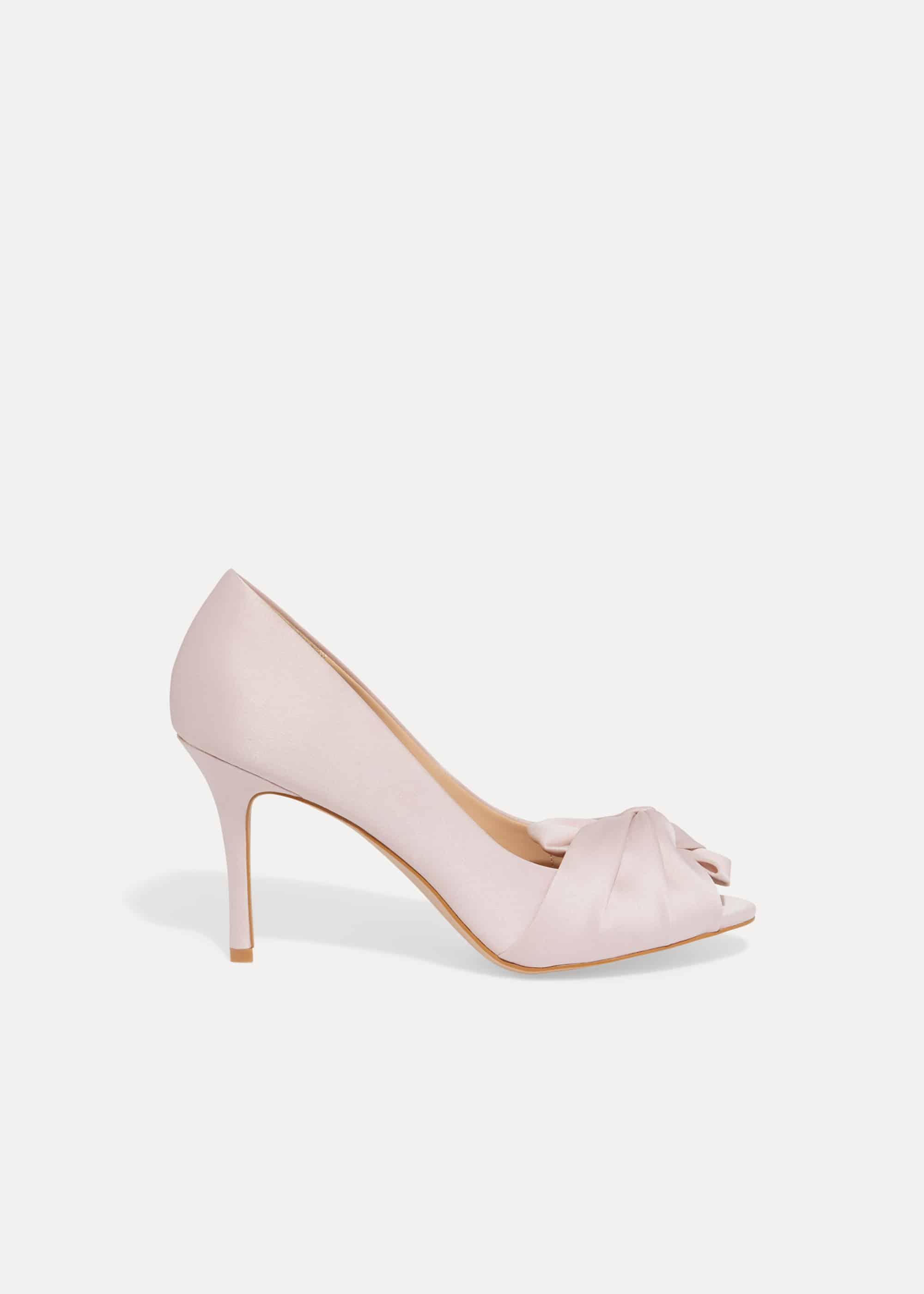 Phase Eight Women Alice Bow Peep Toe Shoes