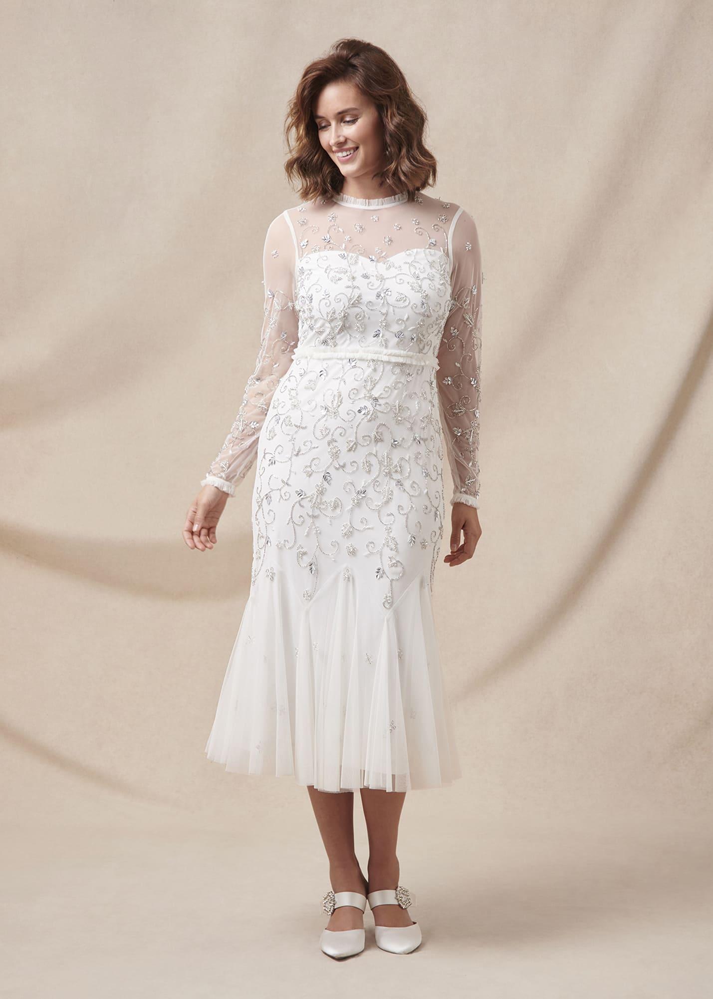 Phase Eight Women Annie Embellished Wedding Dress