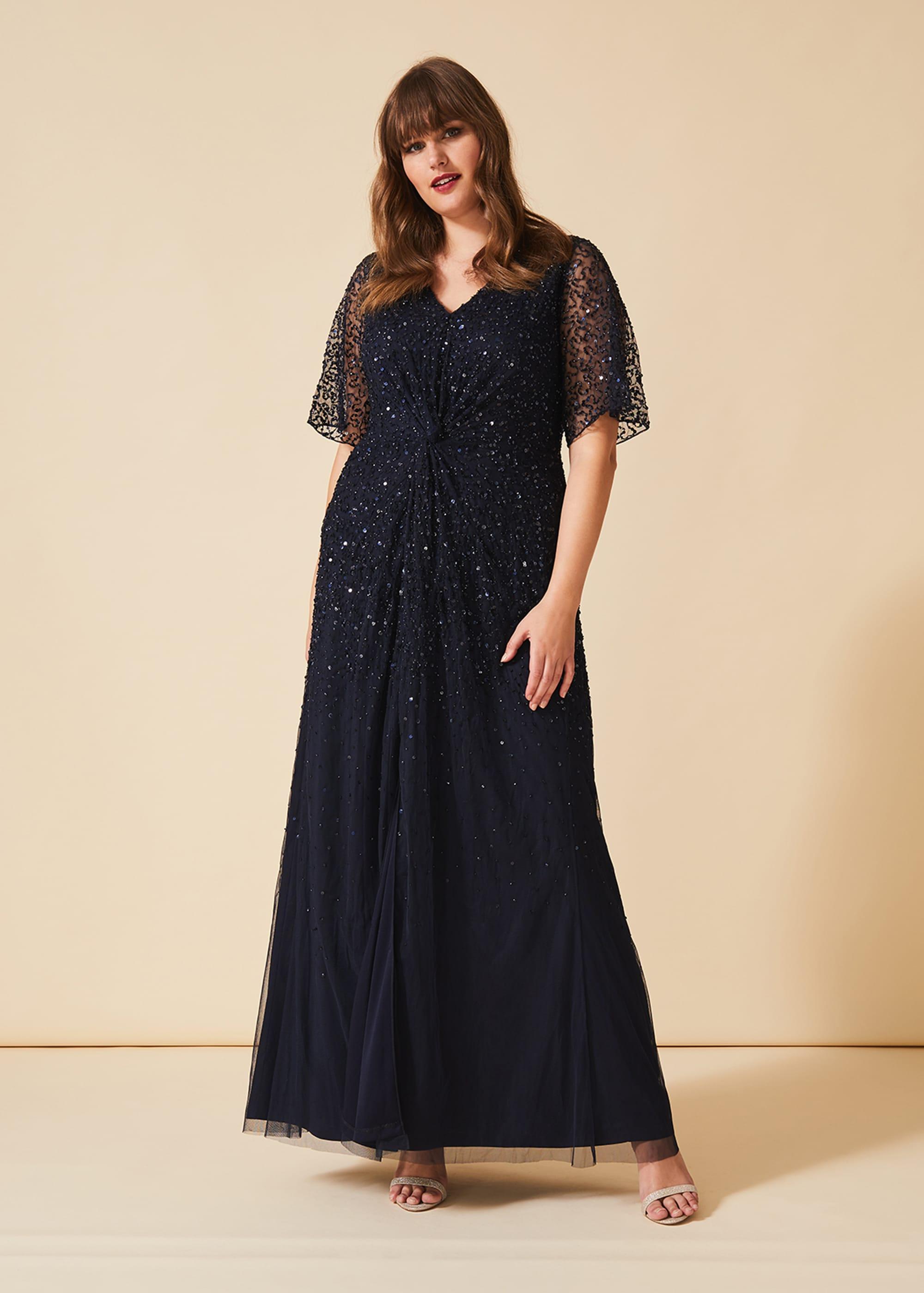 Studio 8 Women Nancy Sequin Maxi Dress
