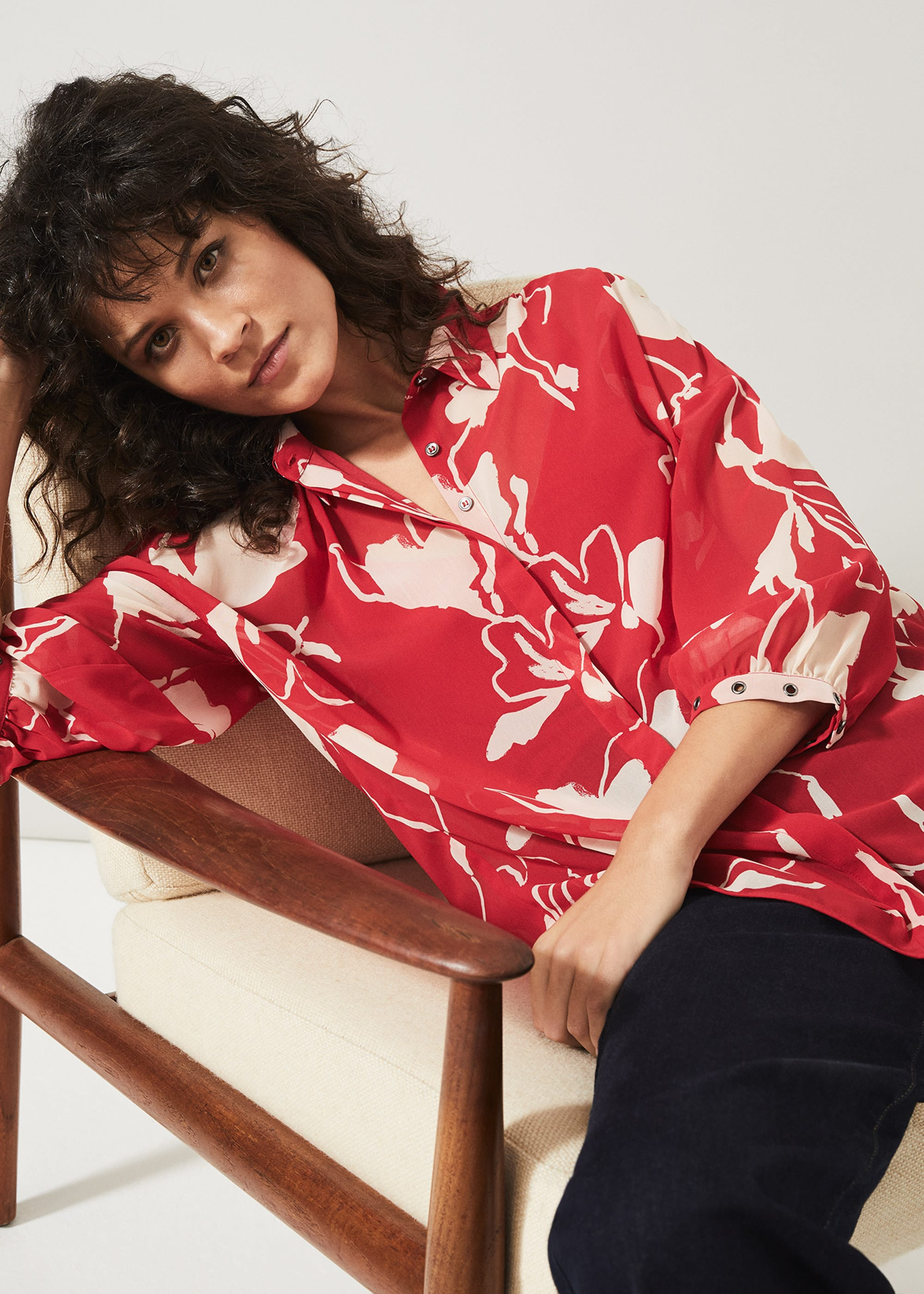 Phase Eight Women Ali Floral Blouse