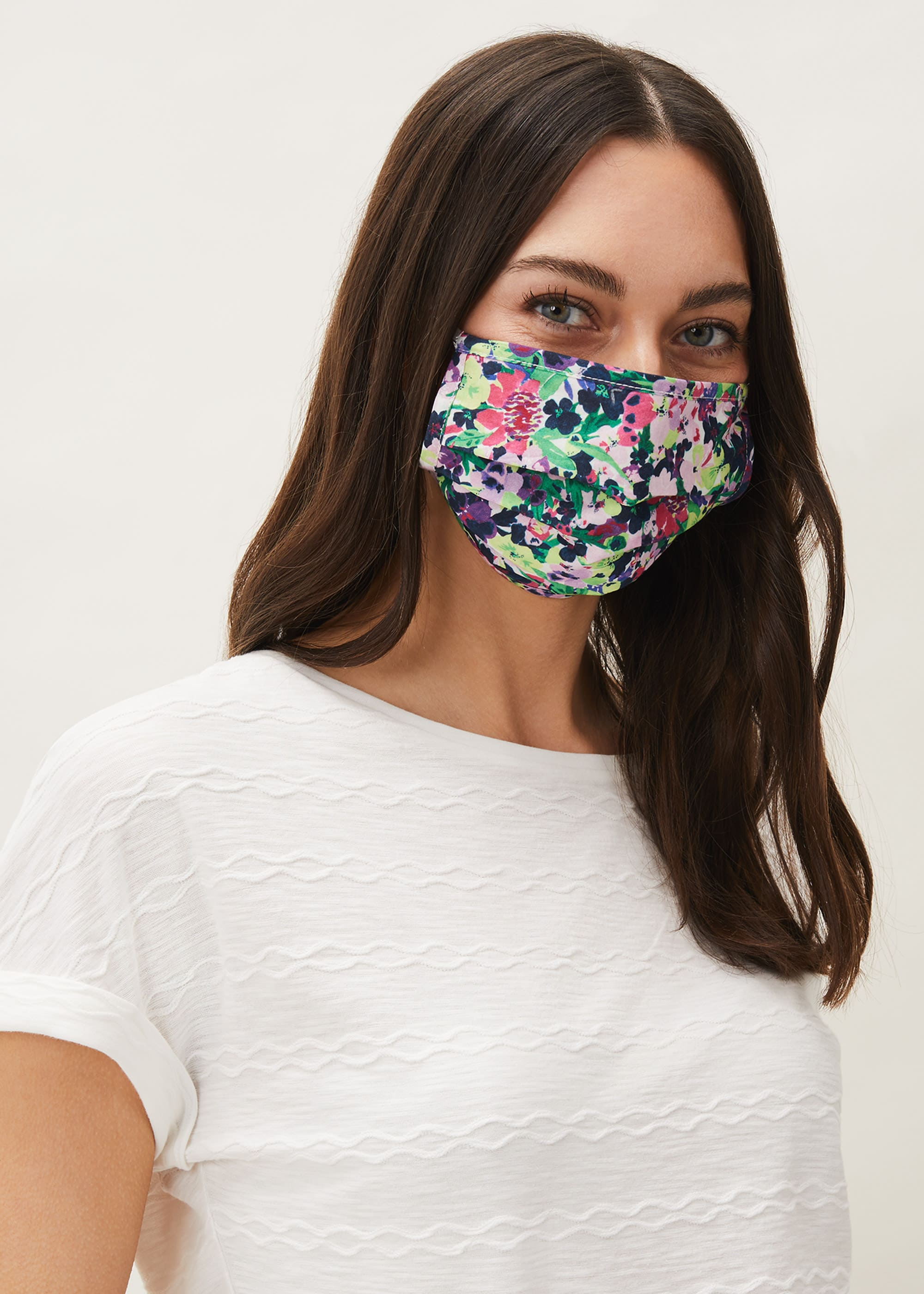Phase Eight Women Arya Floral Face Mask