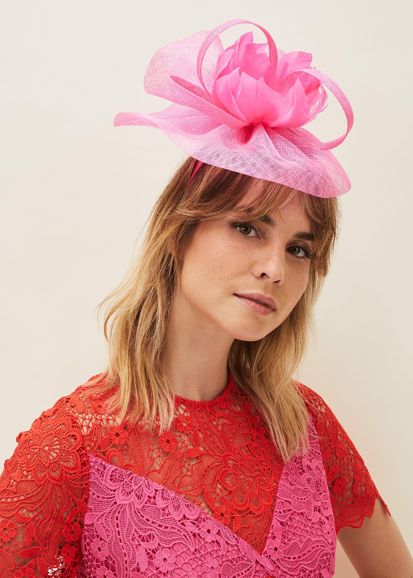 Damsel in a Dress Women Feather Flower Fascinator