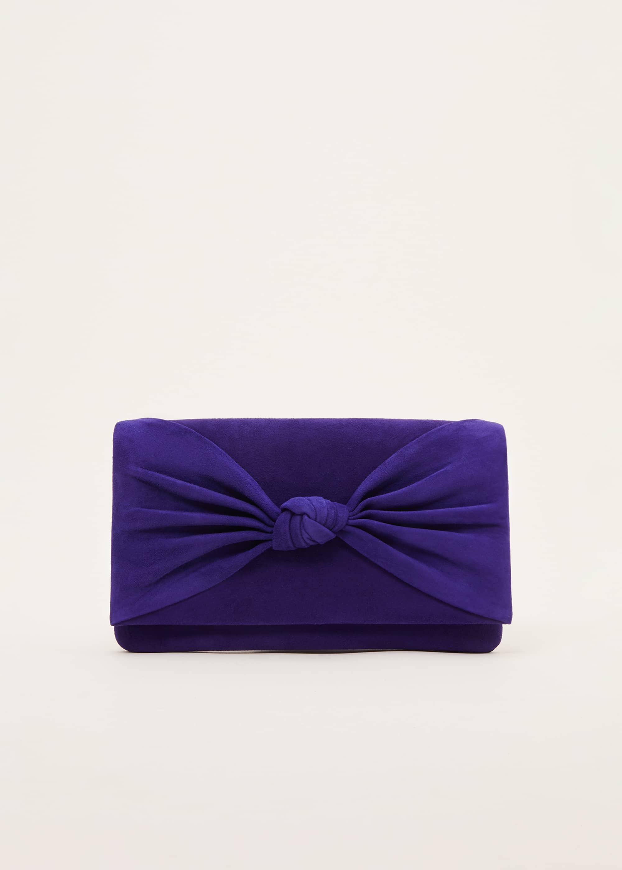Phase Eight Women Carrie Knot Front Clutch Bag