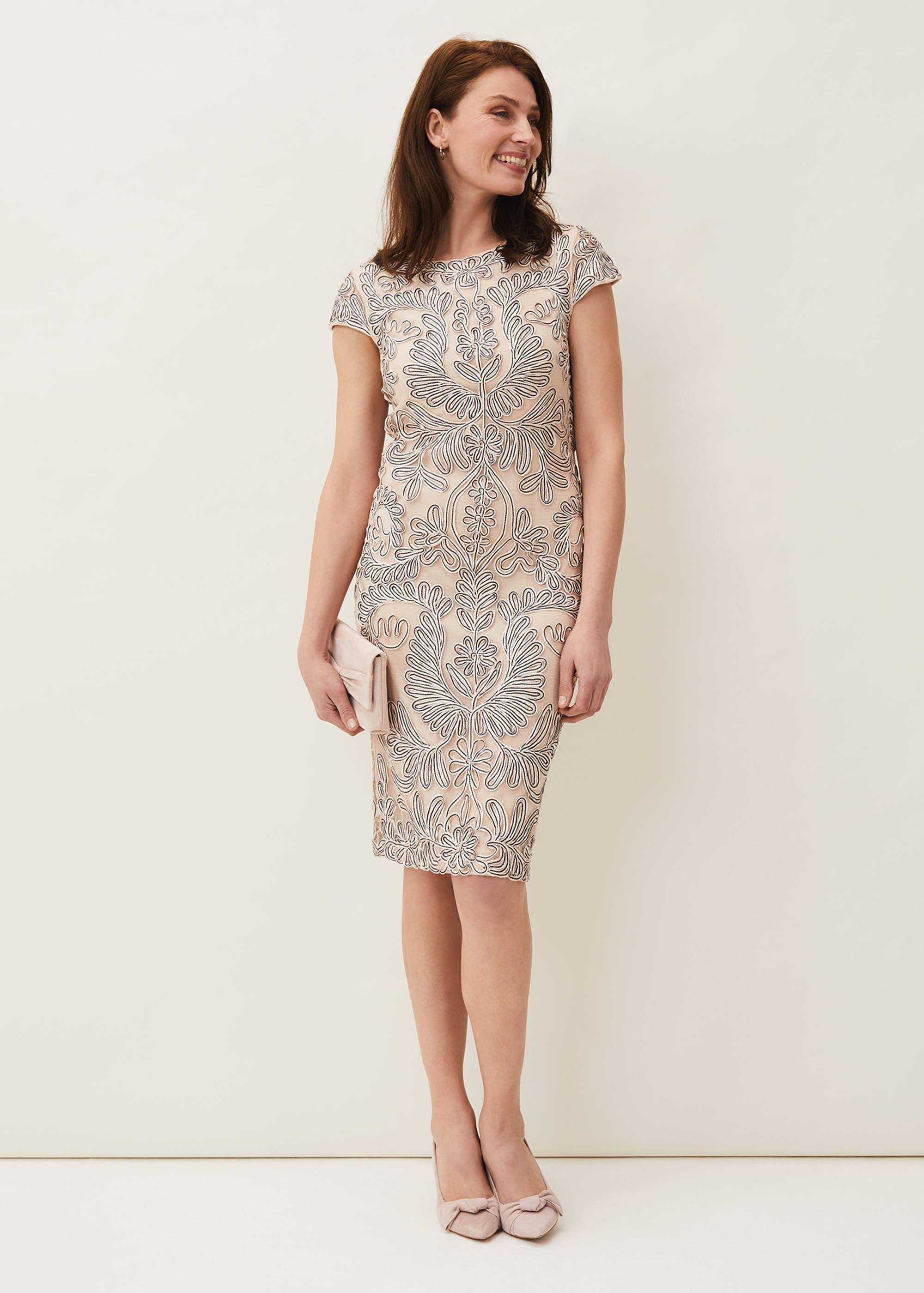 Phase Eight Women Genevieve Tapework Lace Dress