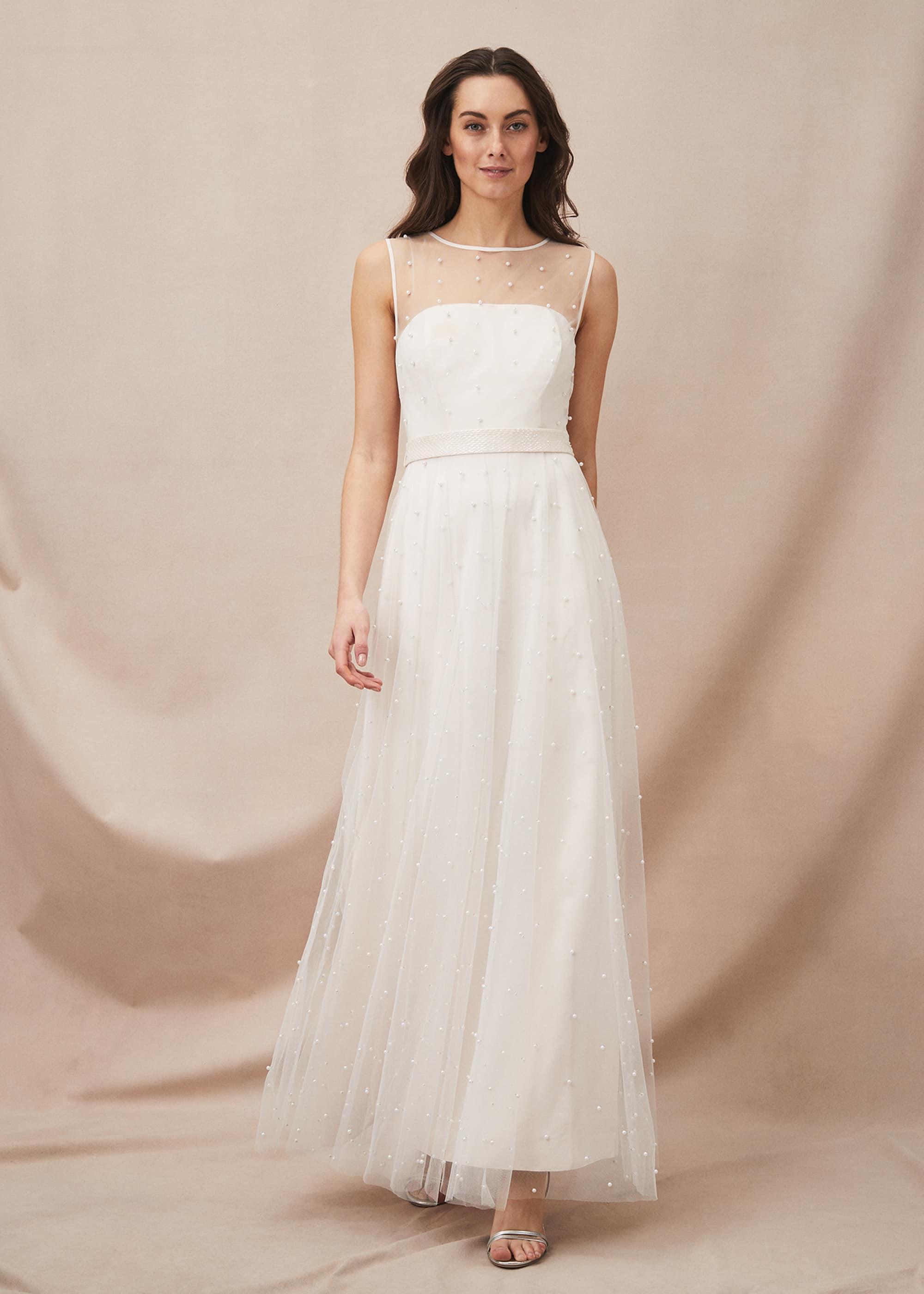 Phase Eight Women Genova Beaded Wedding Dress