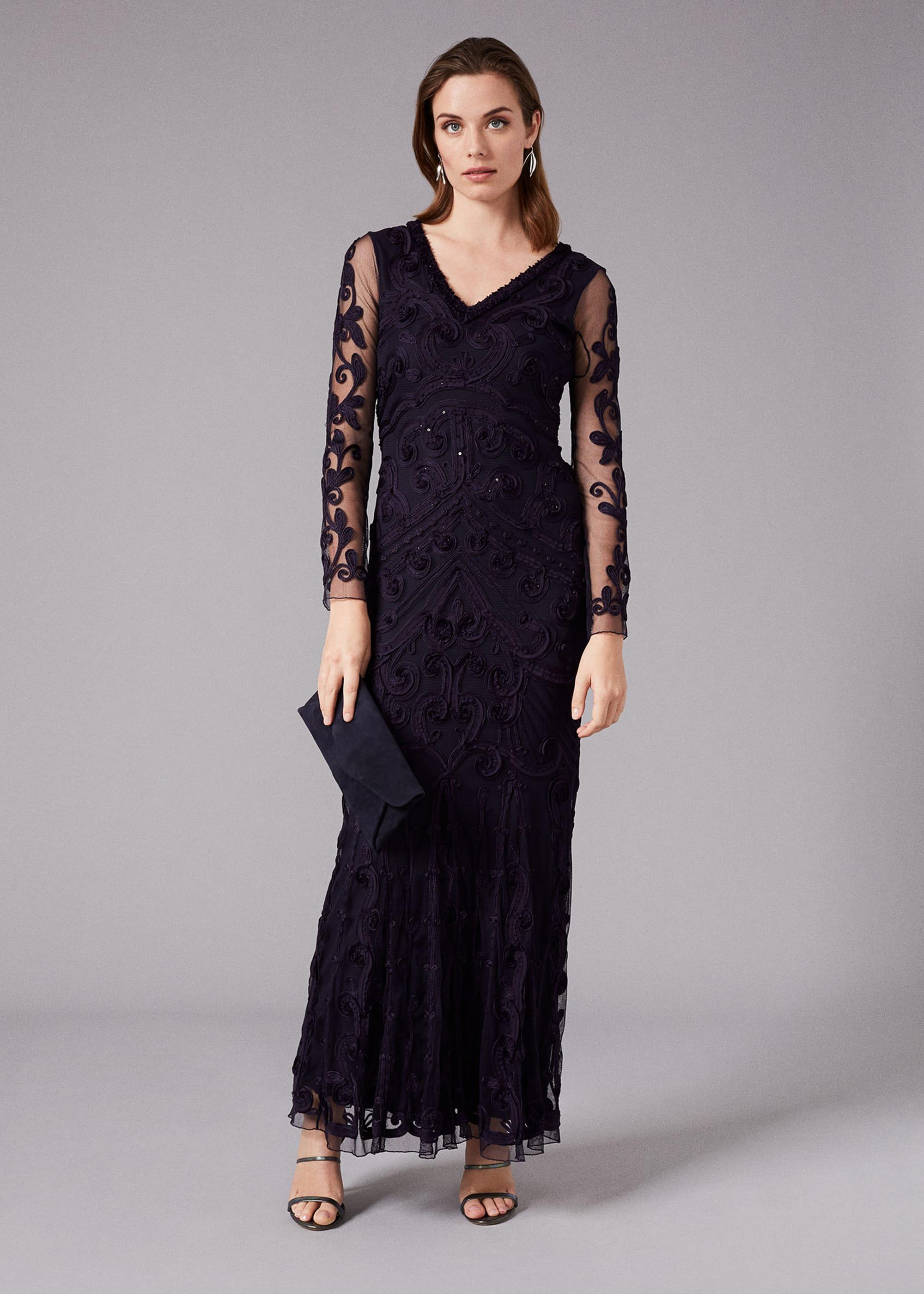 Phase Eight Women Seymour Tapework Lace Maxi Dress