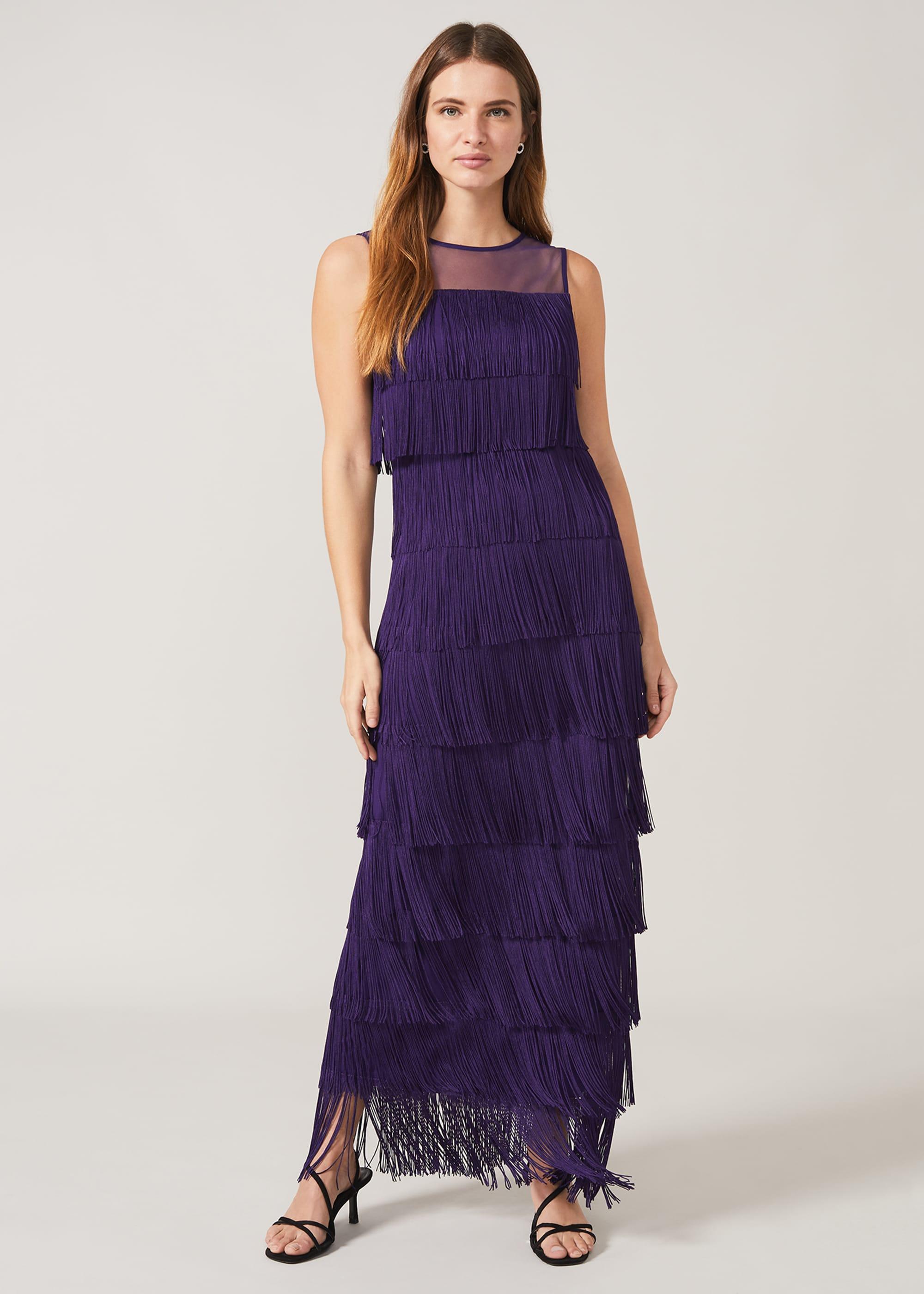 Phase Eight Women Cody Fringe Maxi Dress
