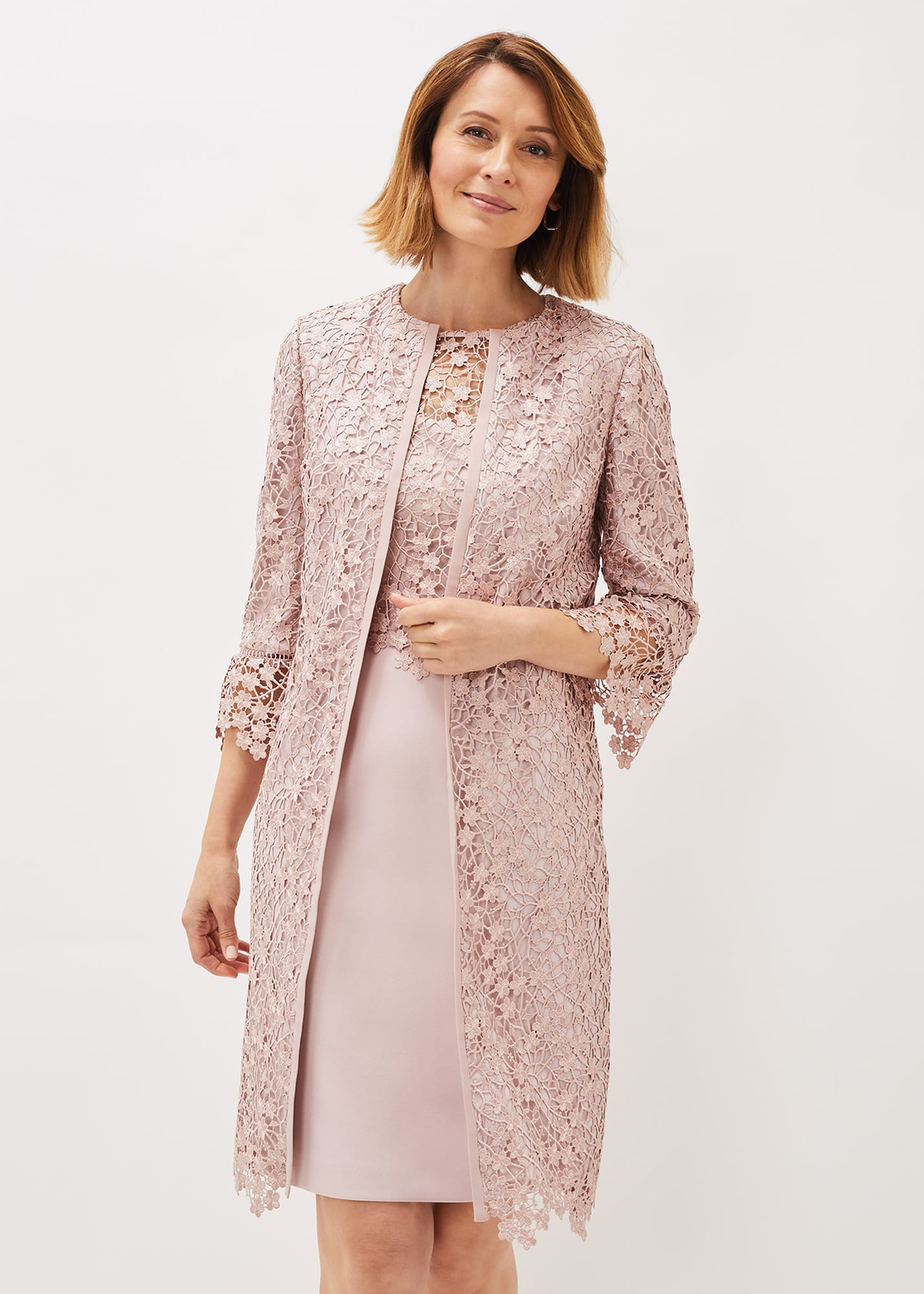 Phase Eight Women Mariposa Lace Occasion Coat