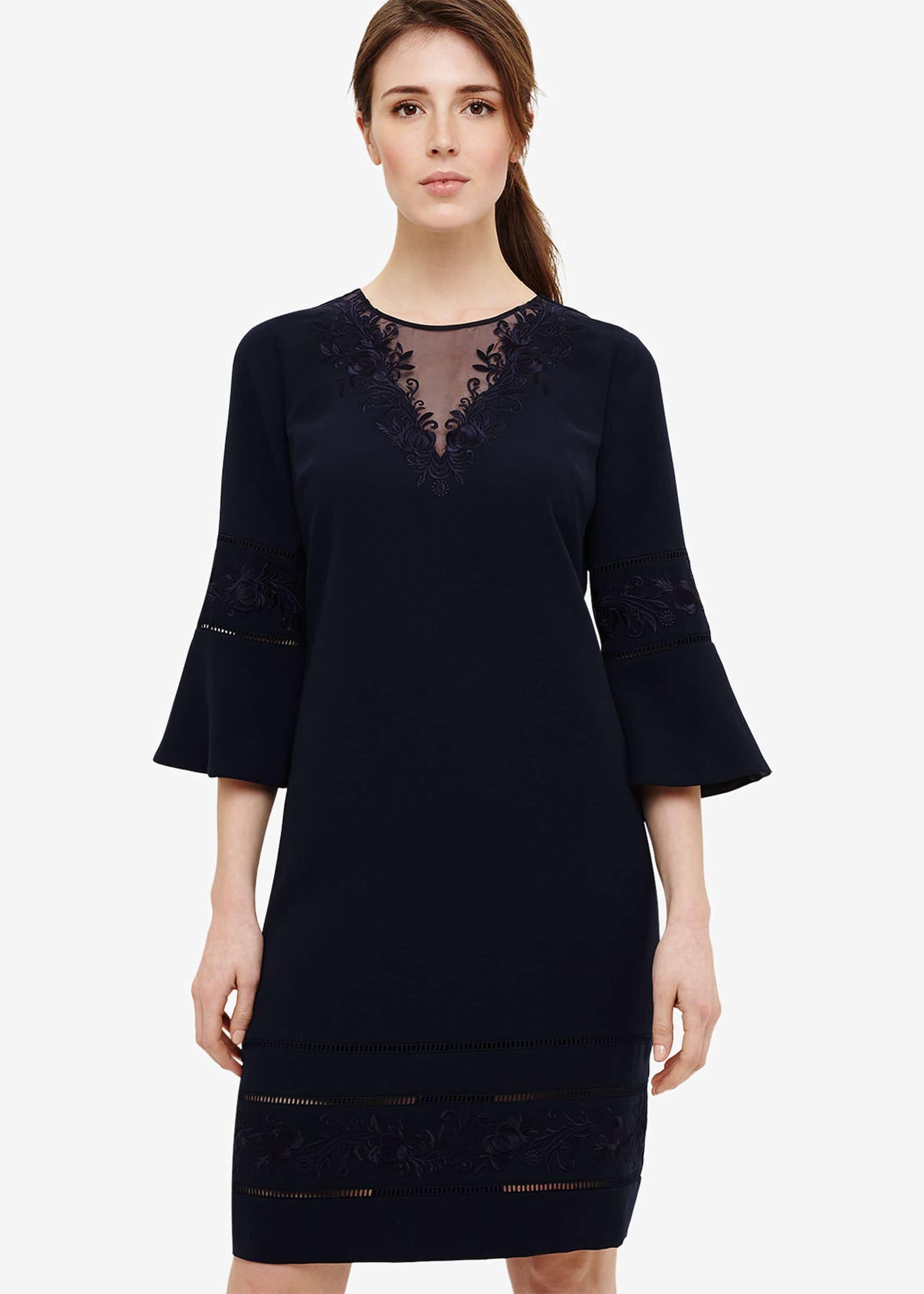 Phase Eight Women Pandora Embroidered Dress