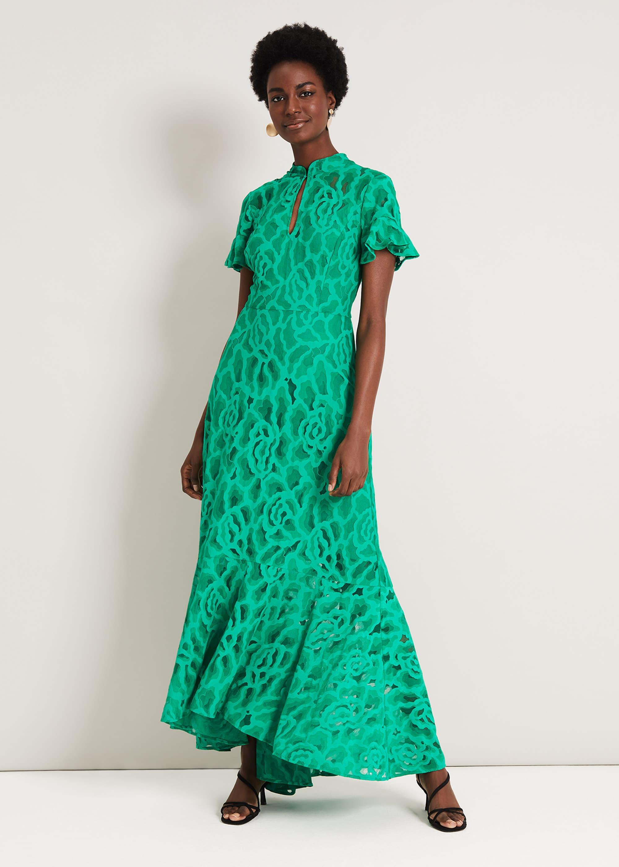 Damsel in a Dress Women Lulu Lace Maxi Dress