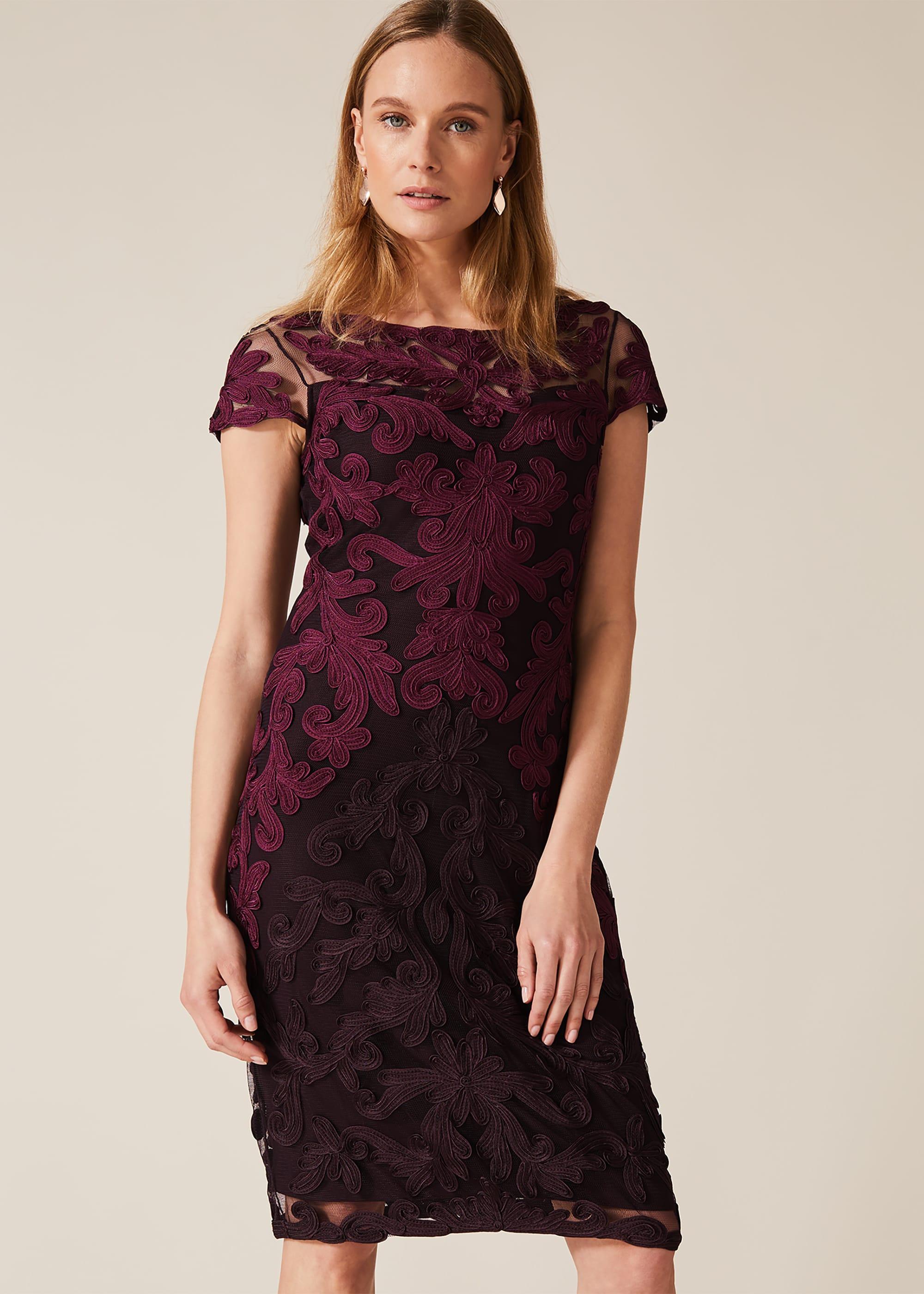 Phase Eight Women Aida Tapework Lace Dress