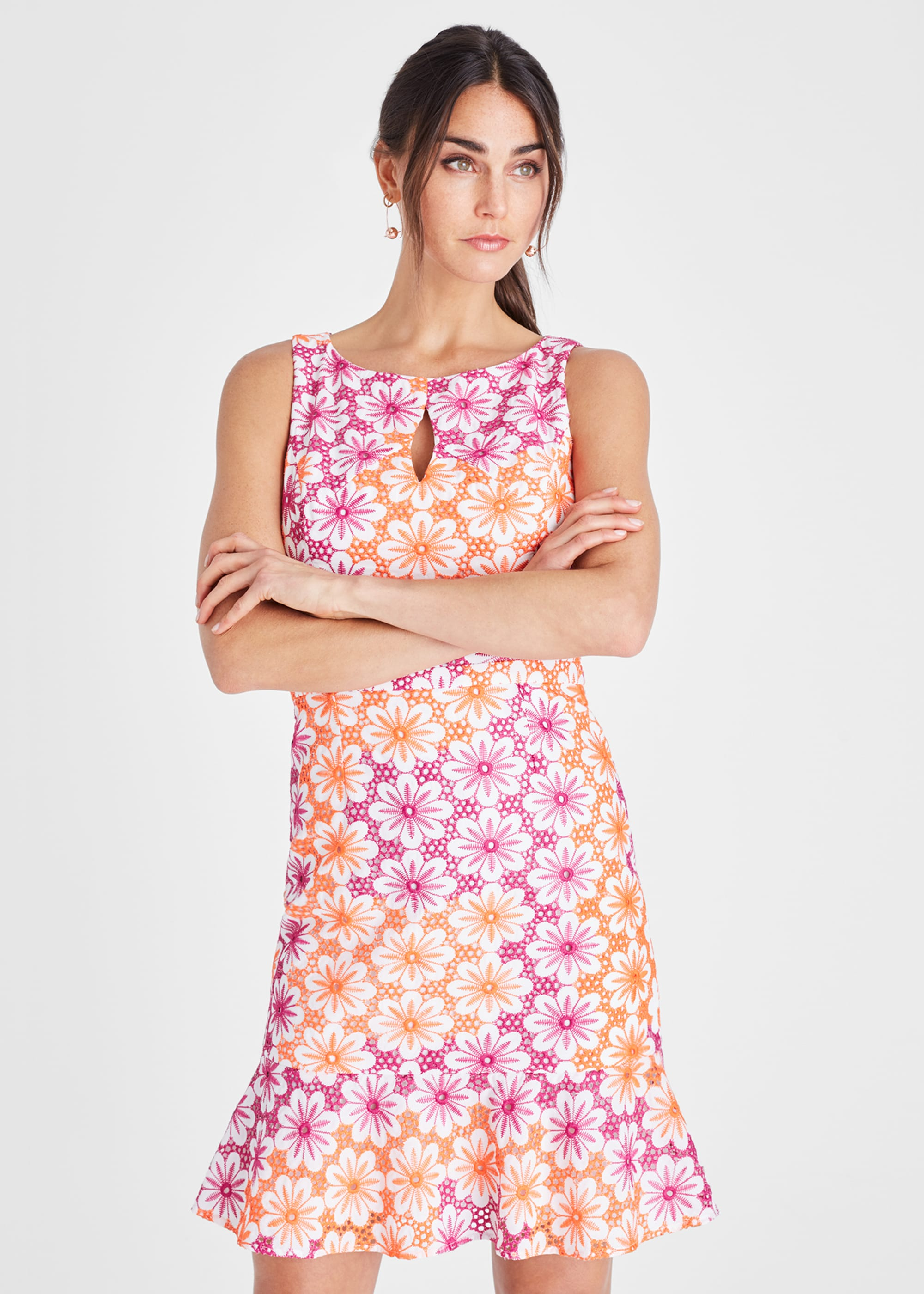 Damsel in a Dress Women Elanor Floral Embroidered Dress