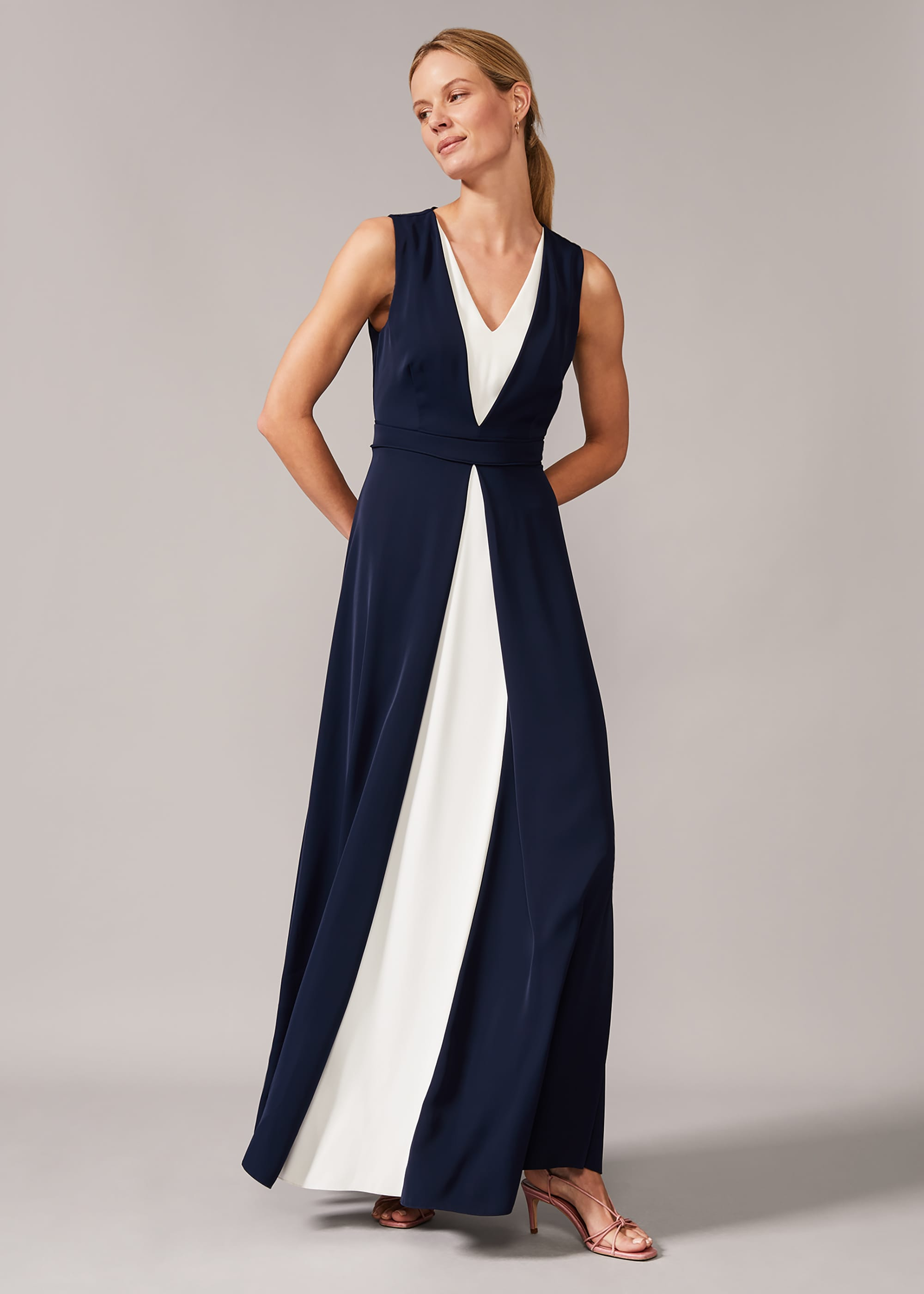 Phase Eight Women Addy Contrast Maxi Dress