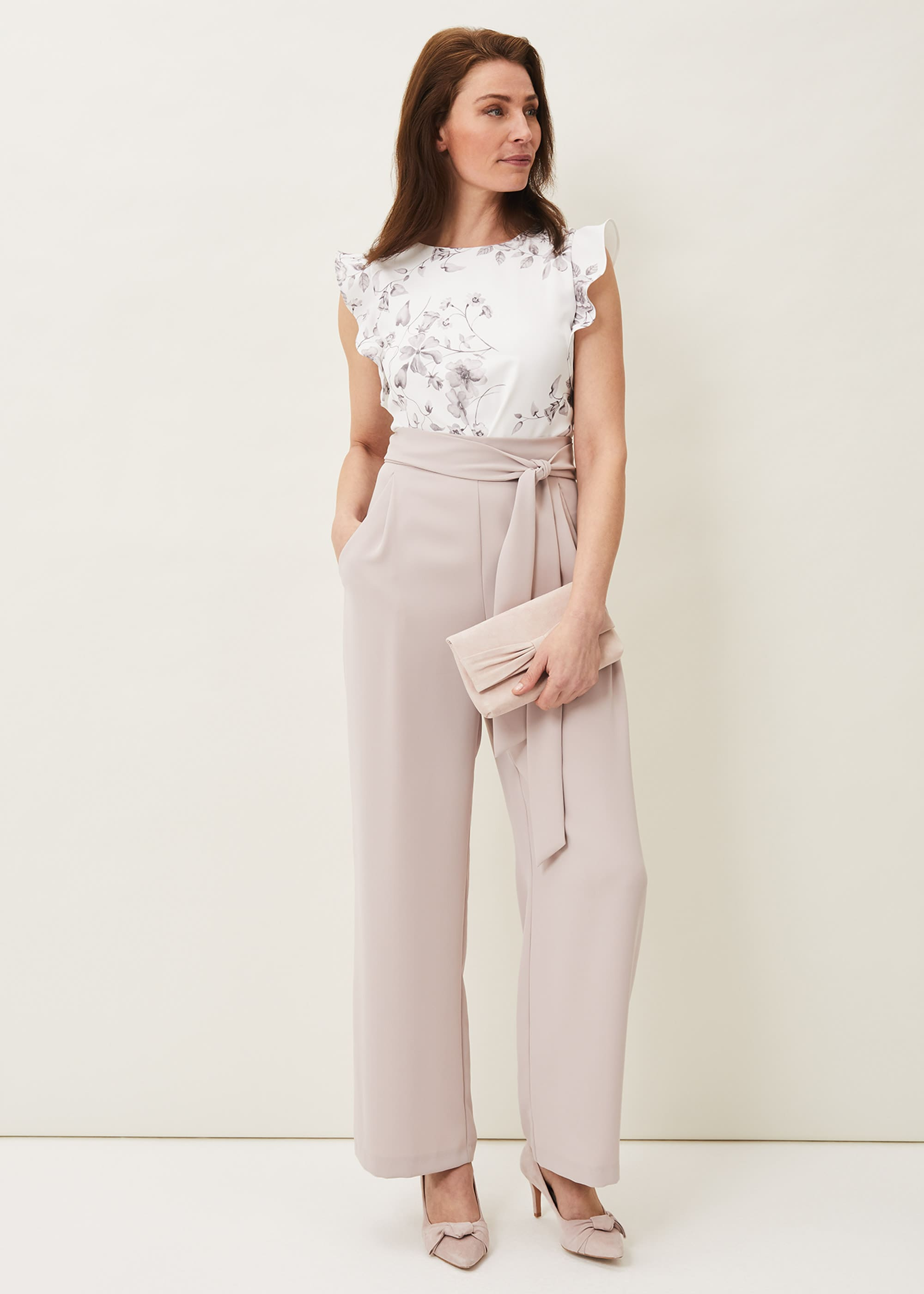 Phase Eight Women Victoriana Printed Jumpsuit
