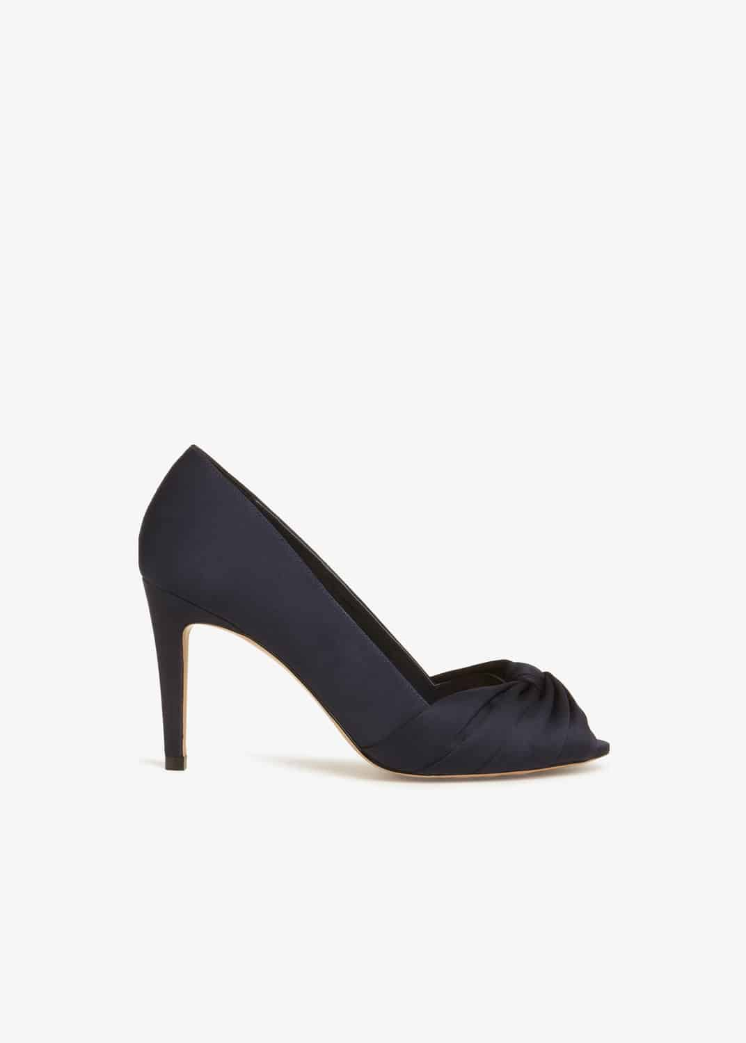 Phase Eight Women Minnie Knot Front Peep Toe Shoes