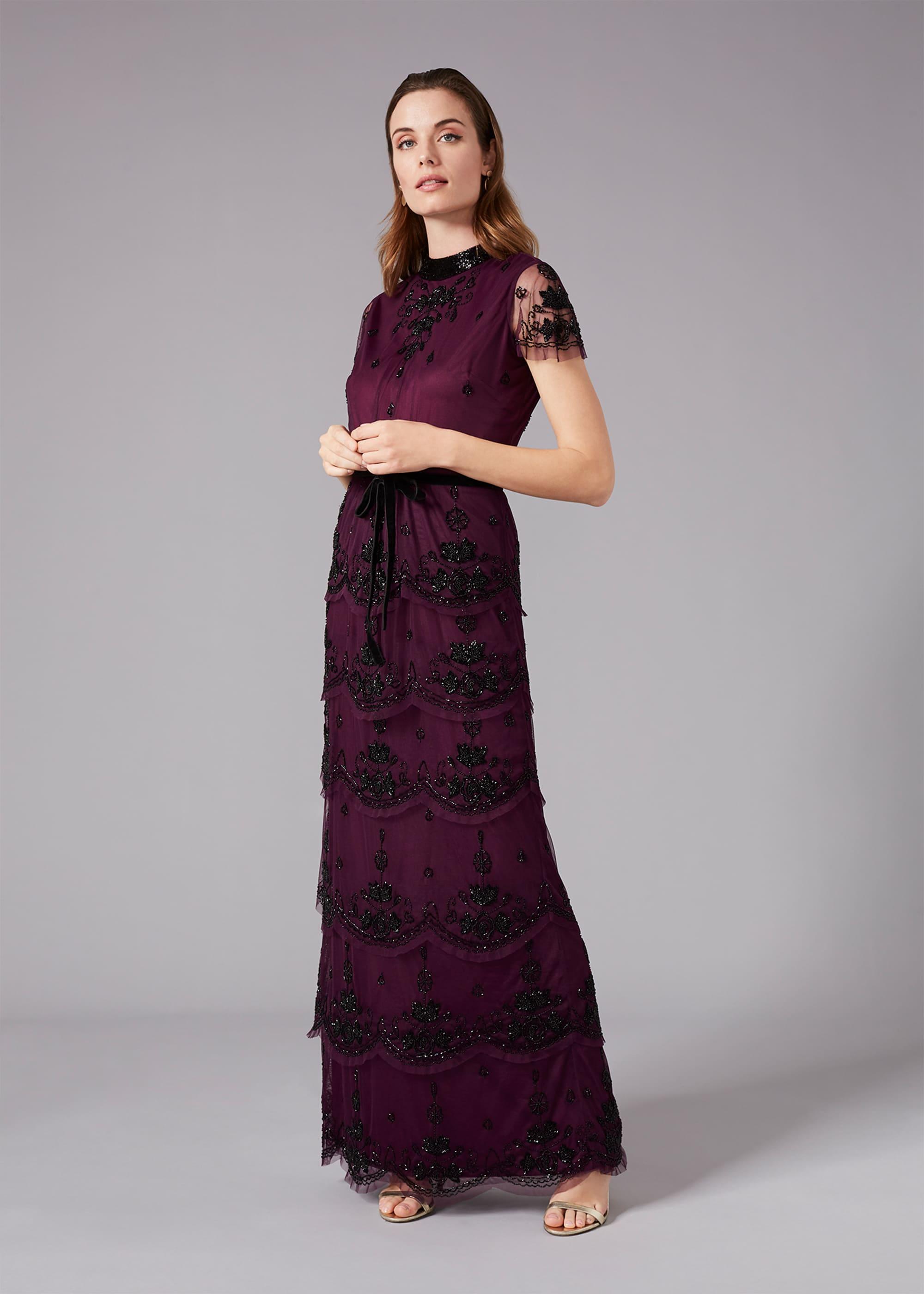 Phase Eight Women Roberta Layered Maxi Dress