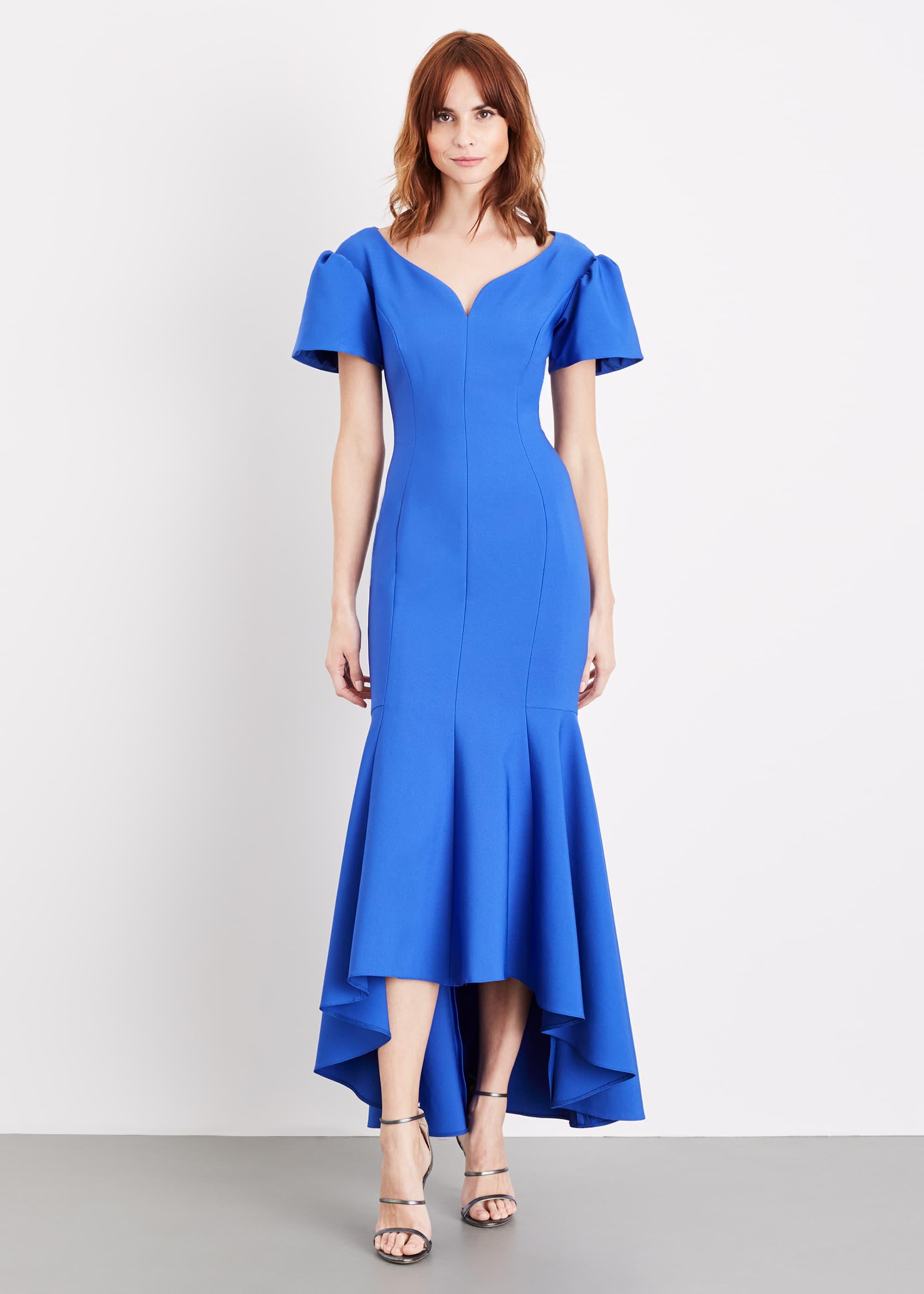 Damsel in a Dress Women Maddi Bardot Maxi Dress