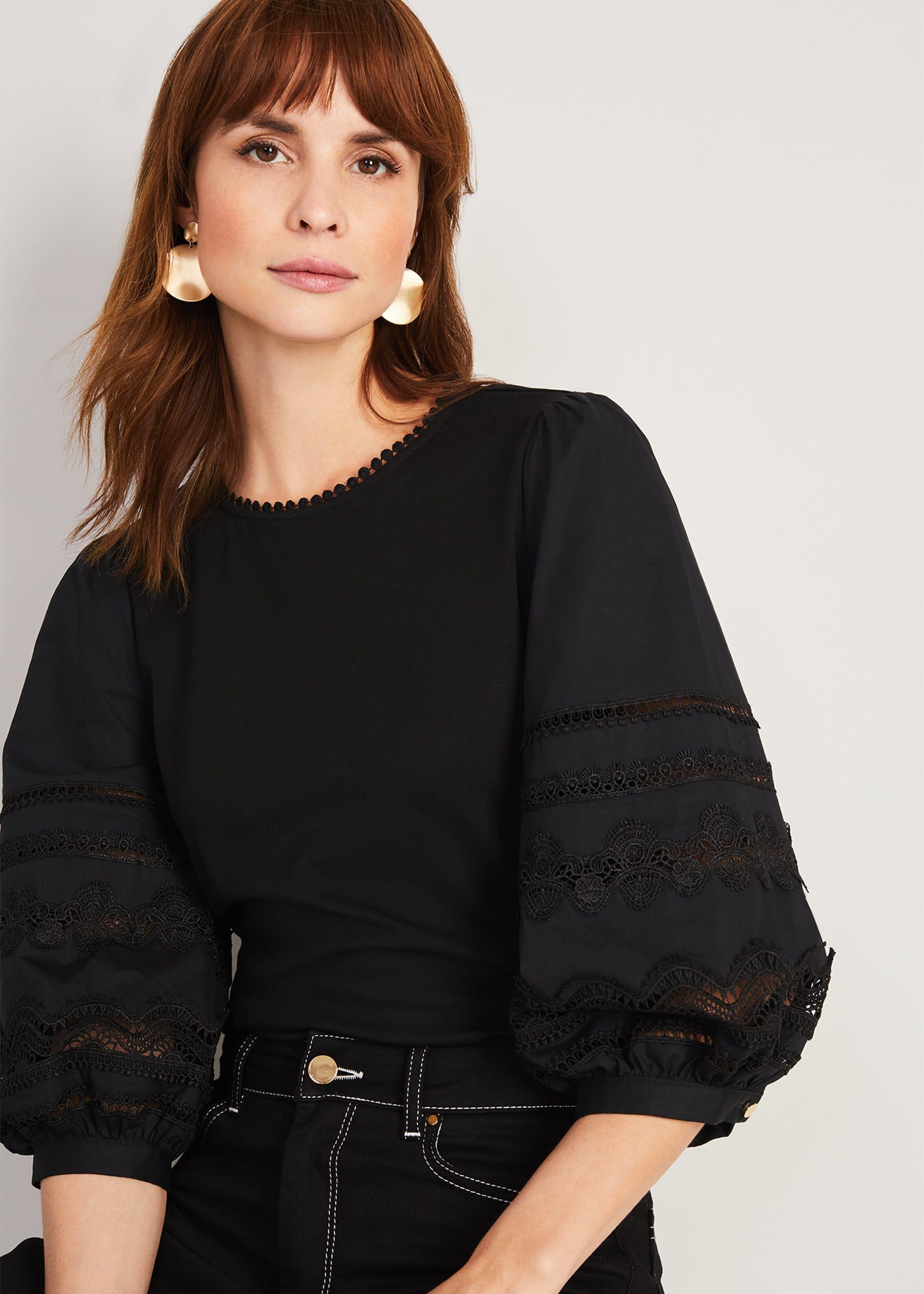 Damsel in a Dress Women Marloe Broderie Top