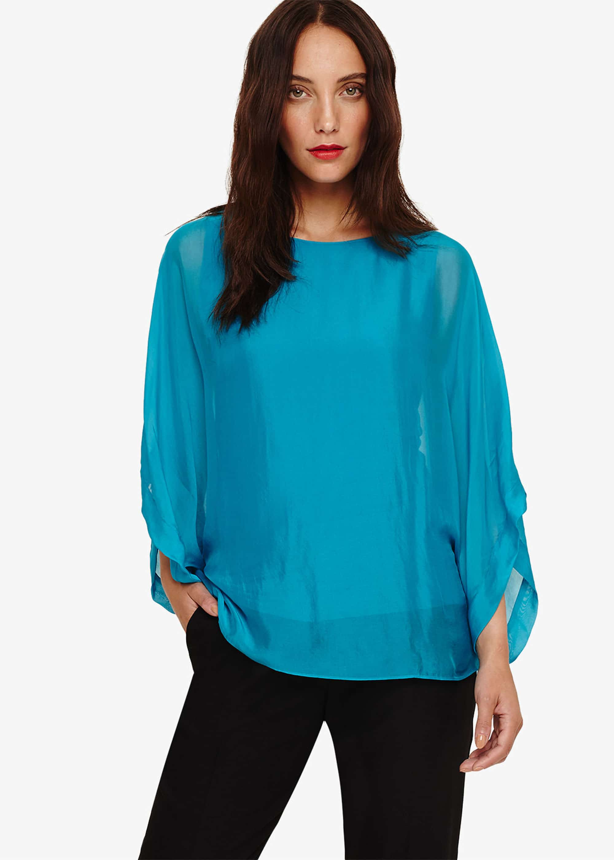 Phase Eight Women Fabia Silk Blend Blouse