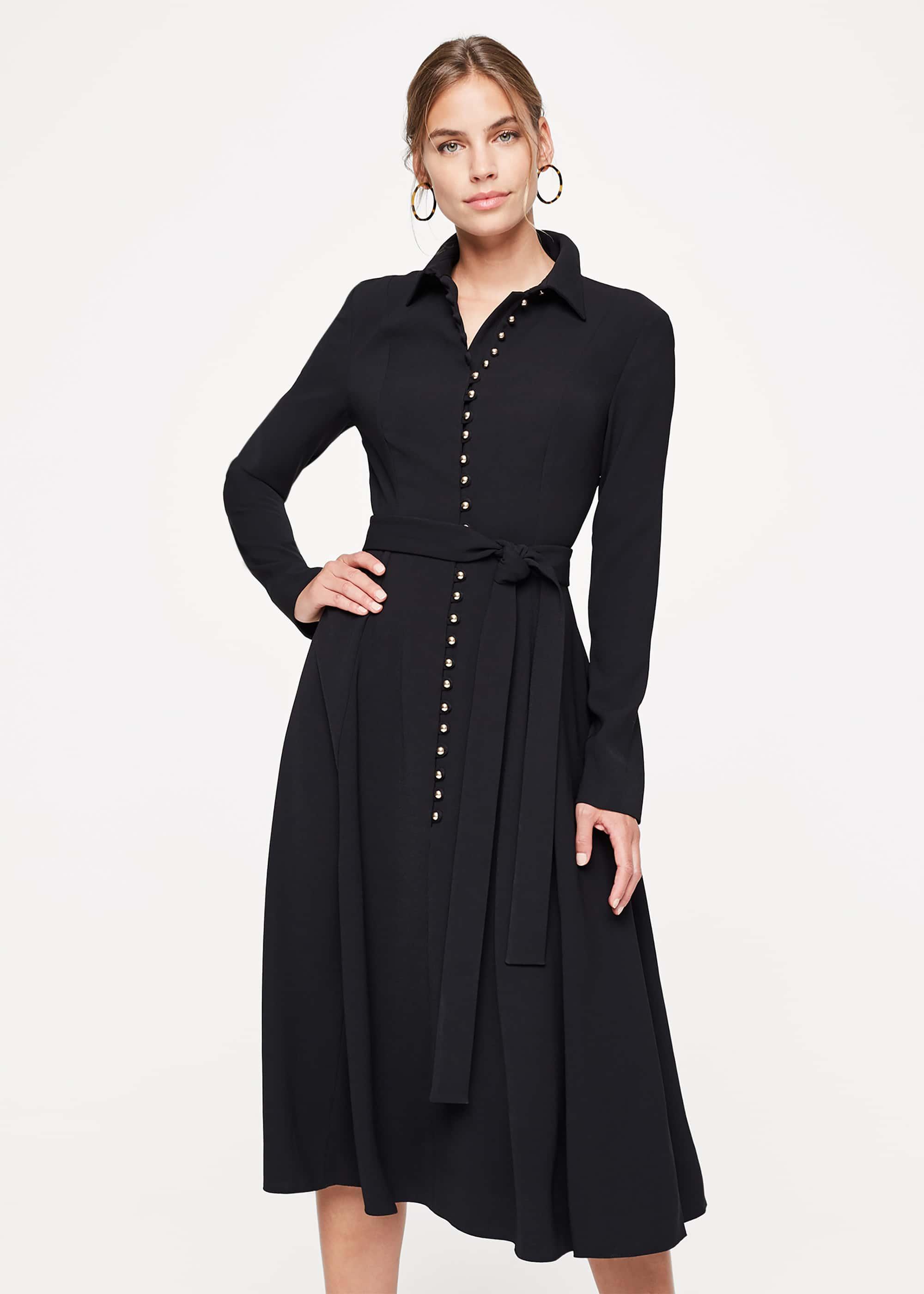 Damsel in a Dress Women Lanie Military Dress