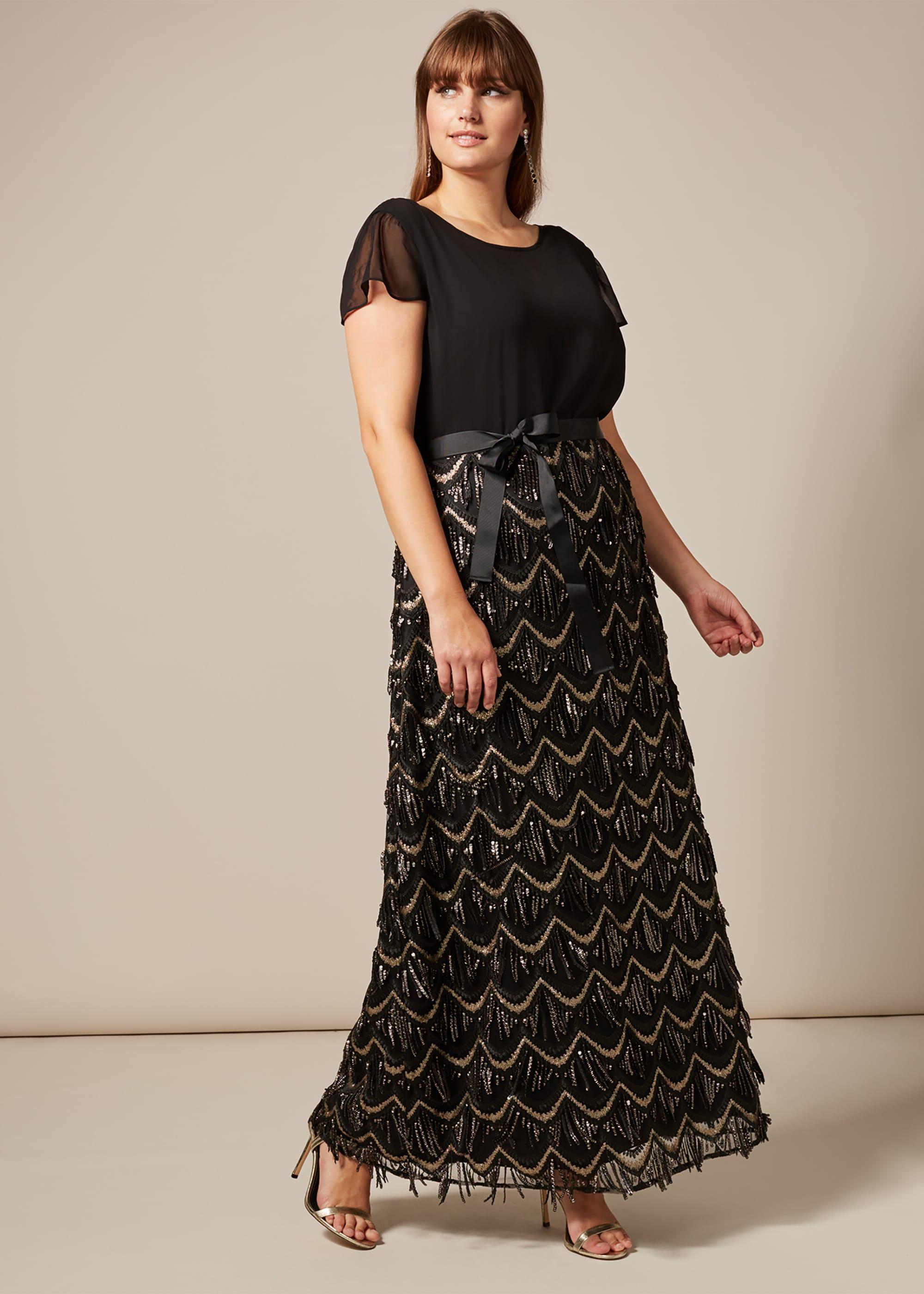 Studio 8 Women Hazel Sequin Maxi Dress