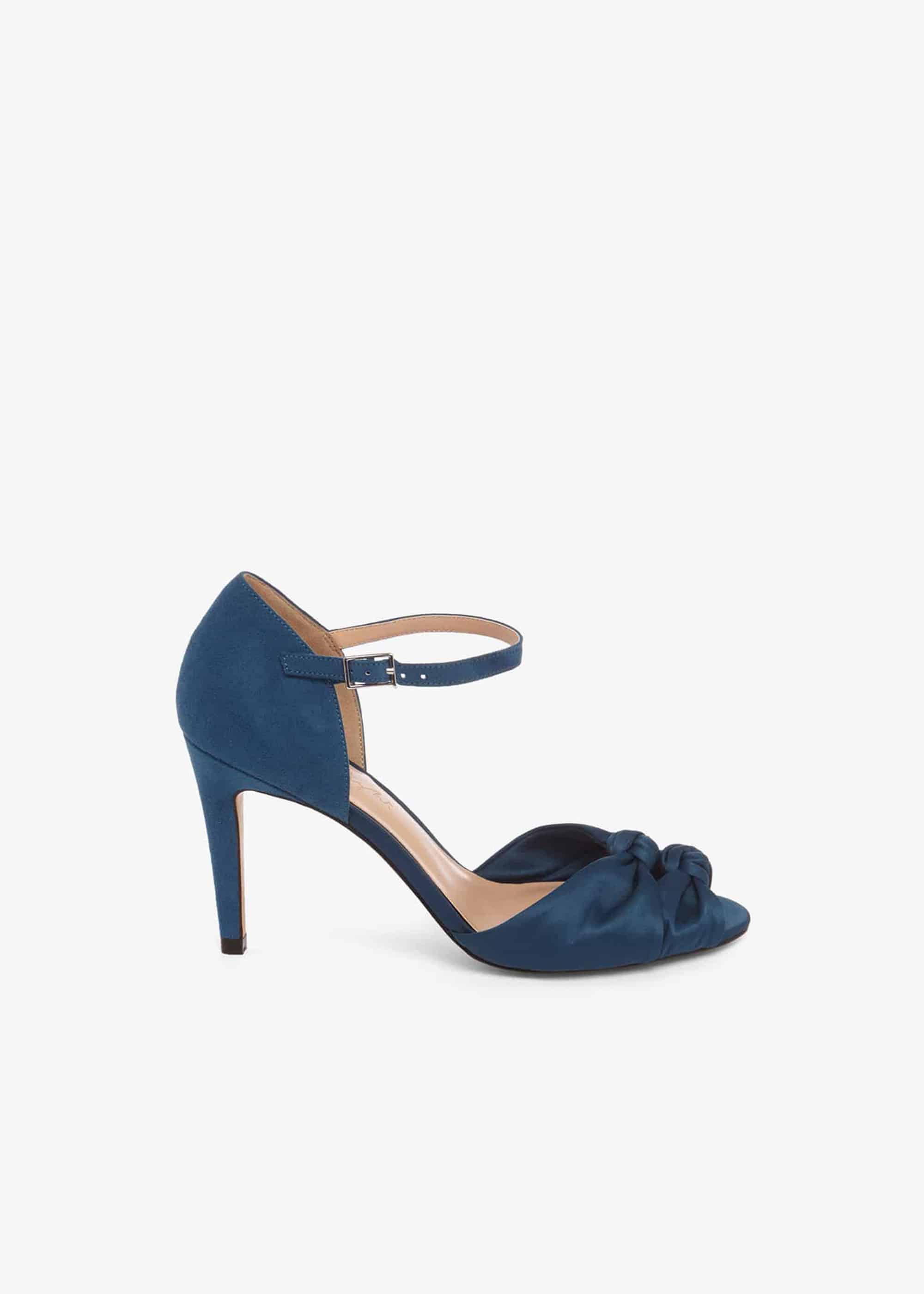 Phase Eight Women Bonnie Knot Peep Toe Sandals