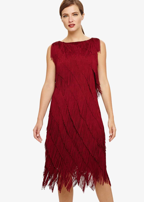 Phase Eight Women Kacy Fringe Dress