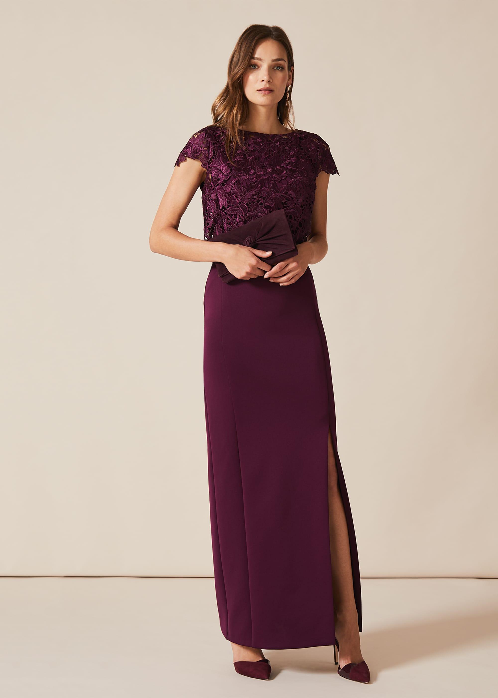 Phase Eight Women Olivia Scuba Maxi Dress