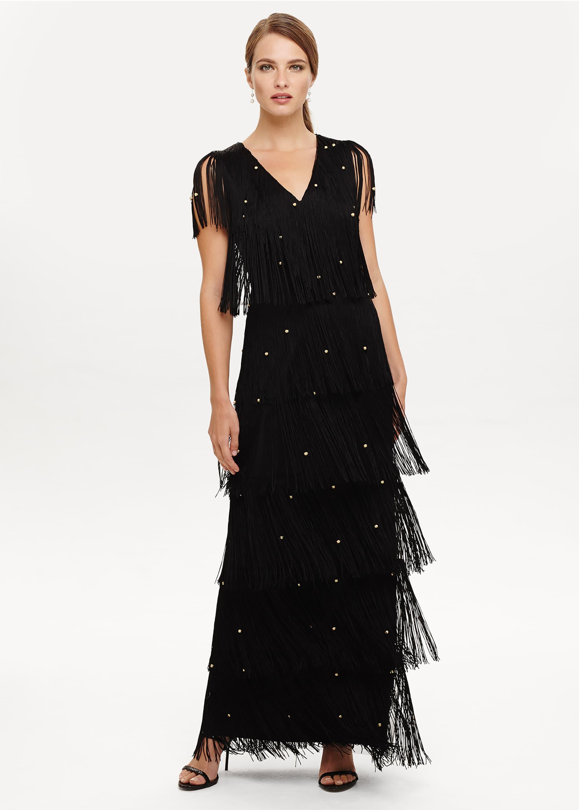 Phase Eight Women Kandice Fringe Dress