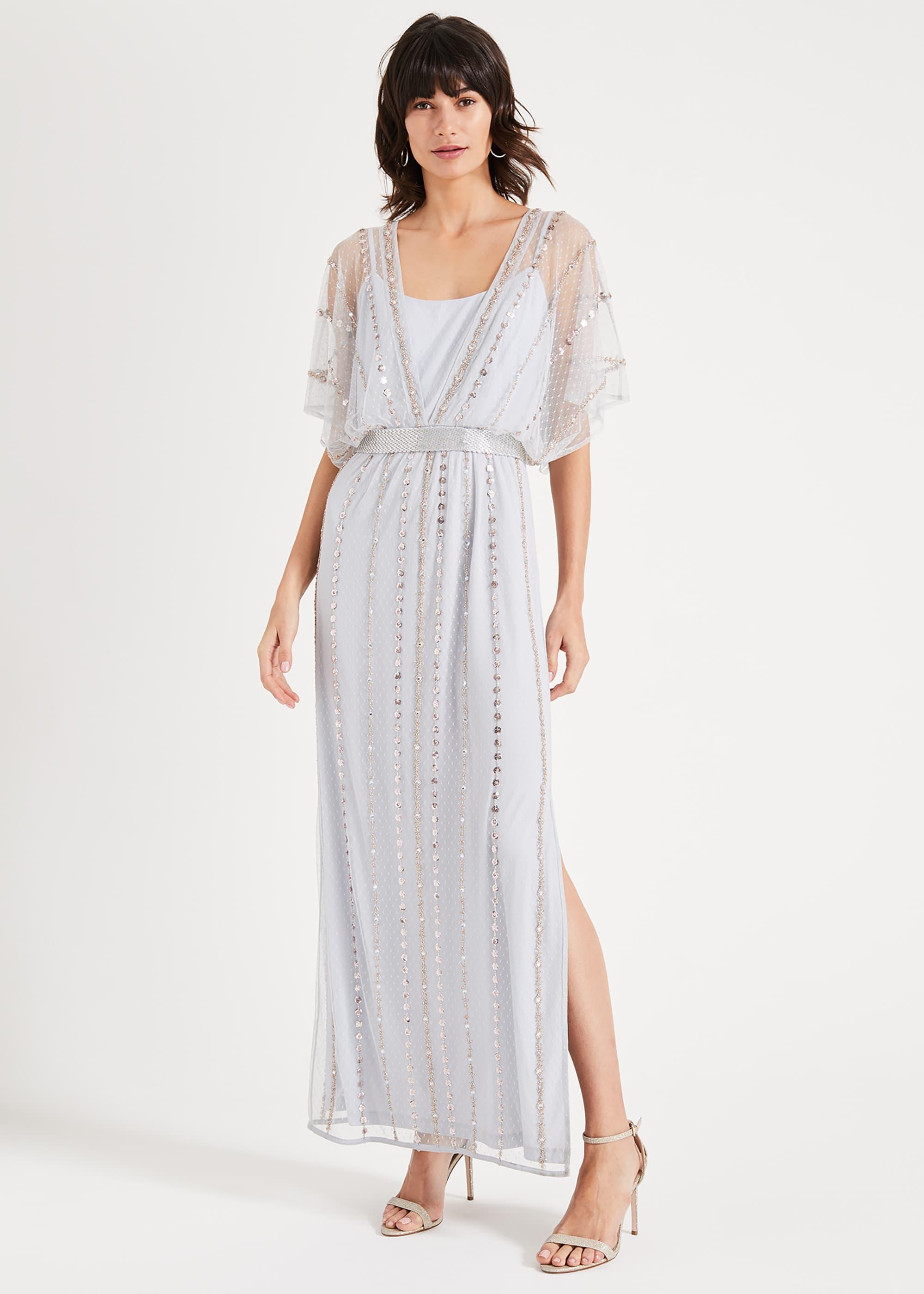 Phase Eight Women Daniela Beaded Maxi Dress