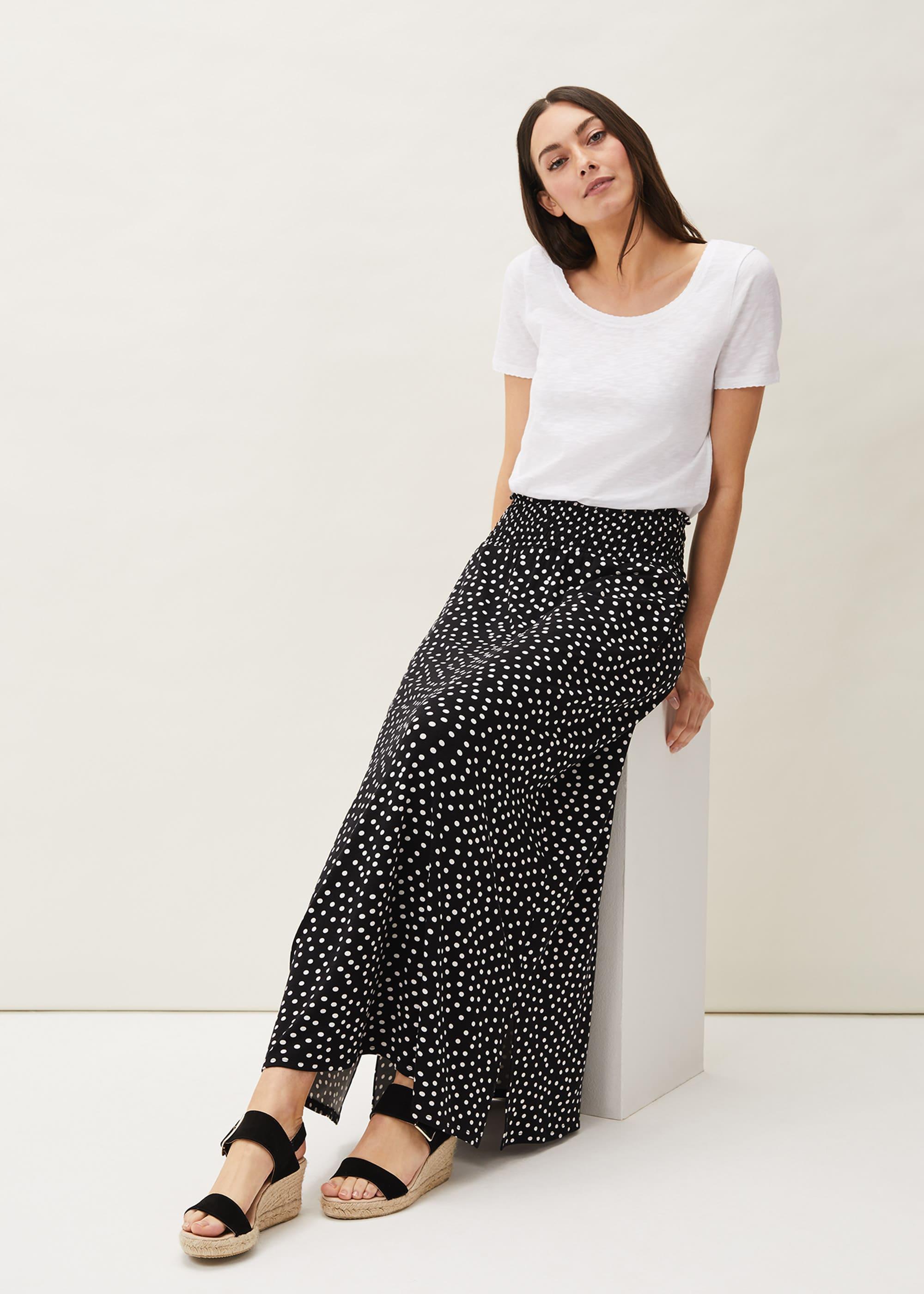 Phase Eight Women Connie Spot Print Maxi Skirt