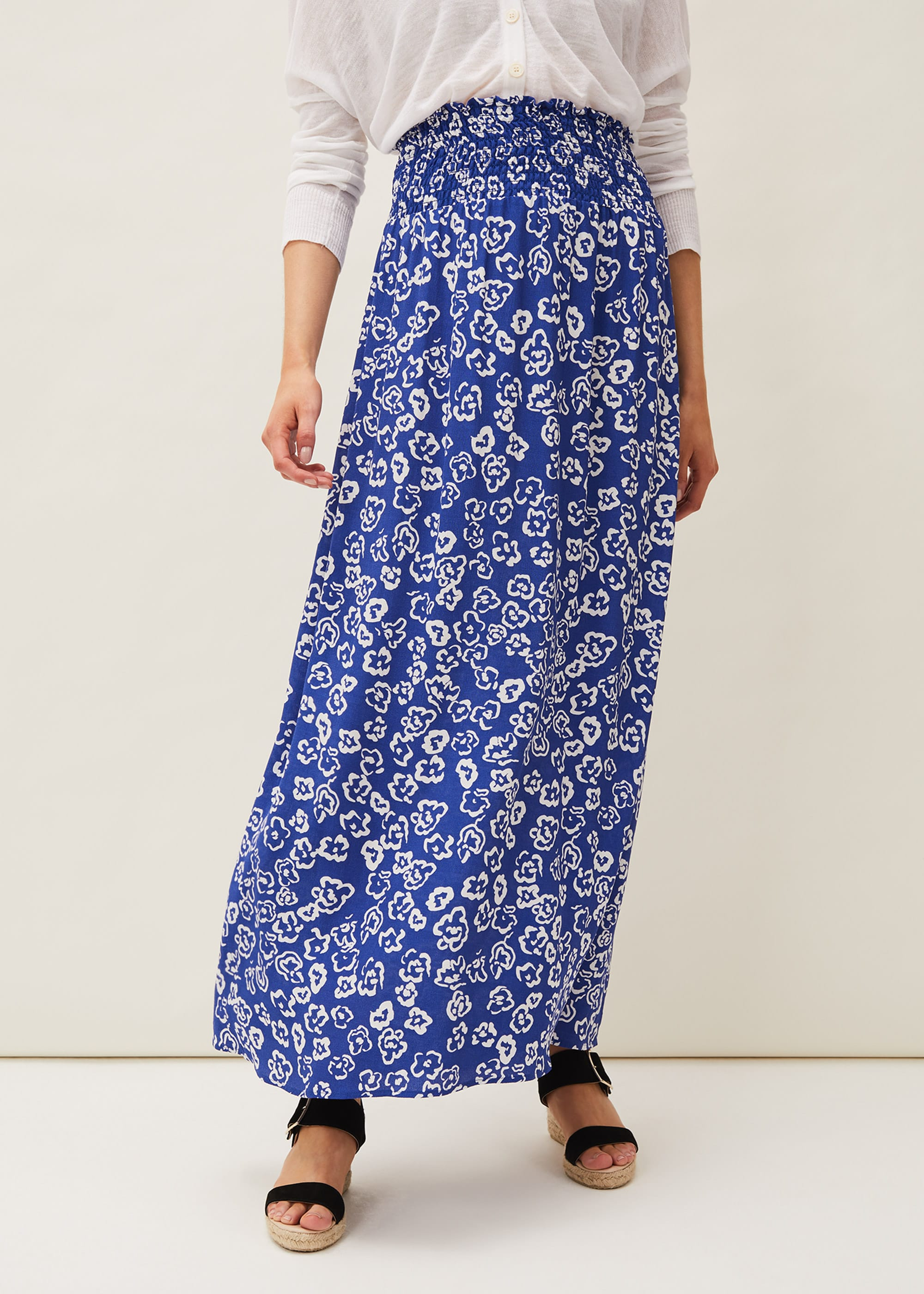 Phase Eight Women Grace Floral Maxi Skirt