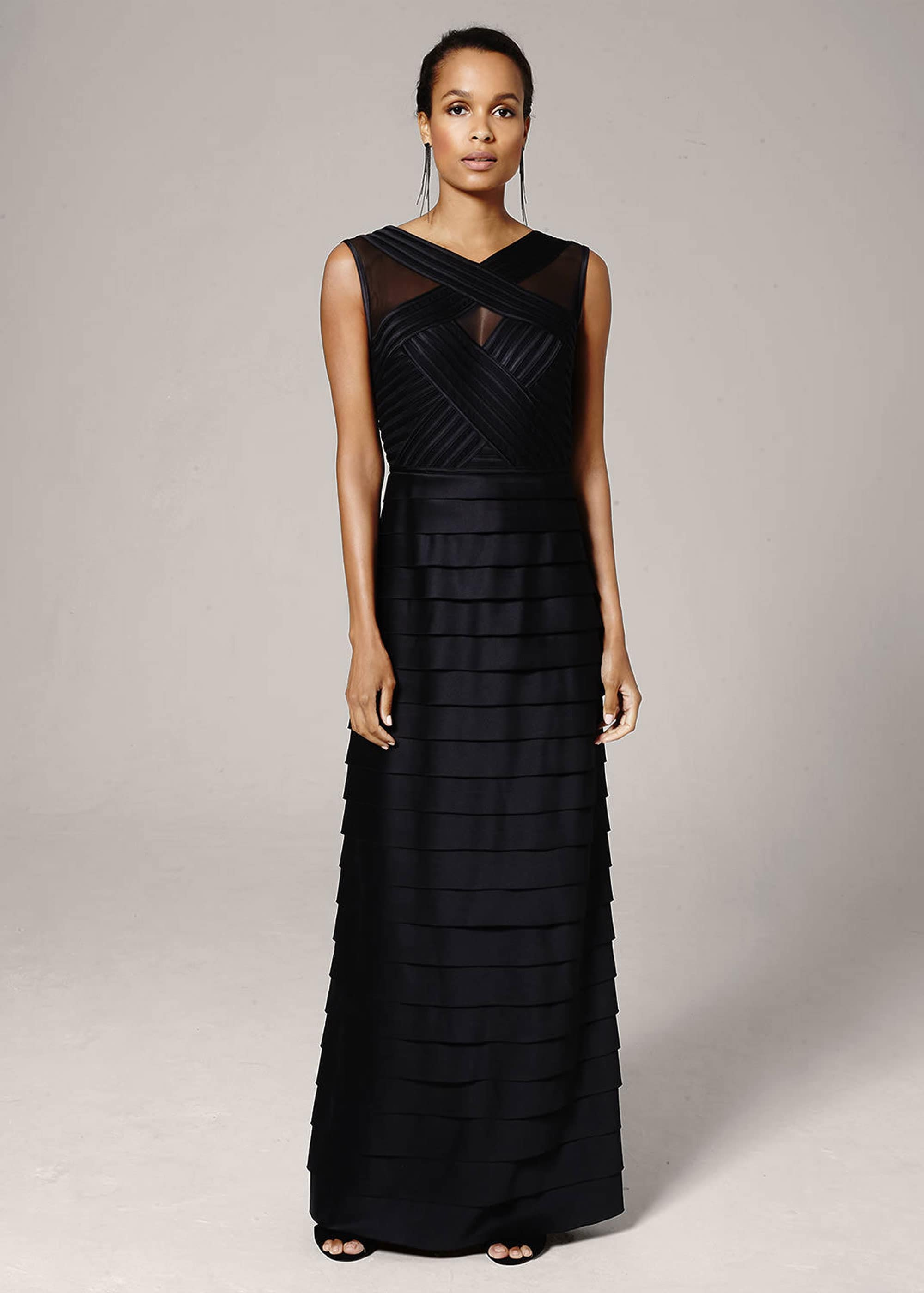 Phase Eight Women Hermione Layered Maxi Dress