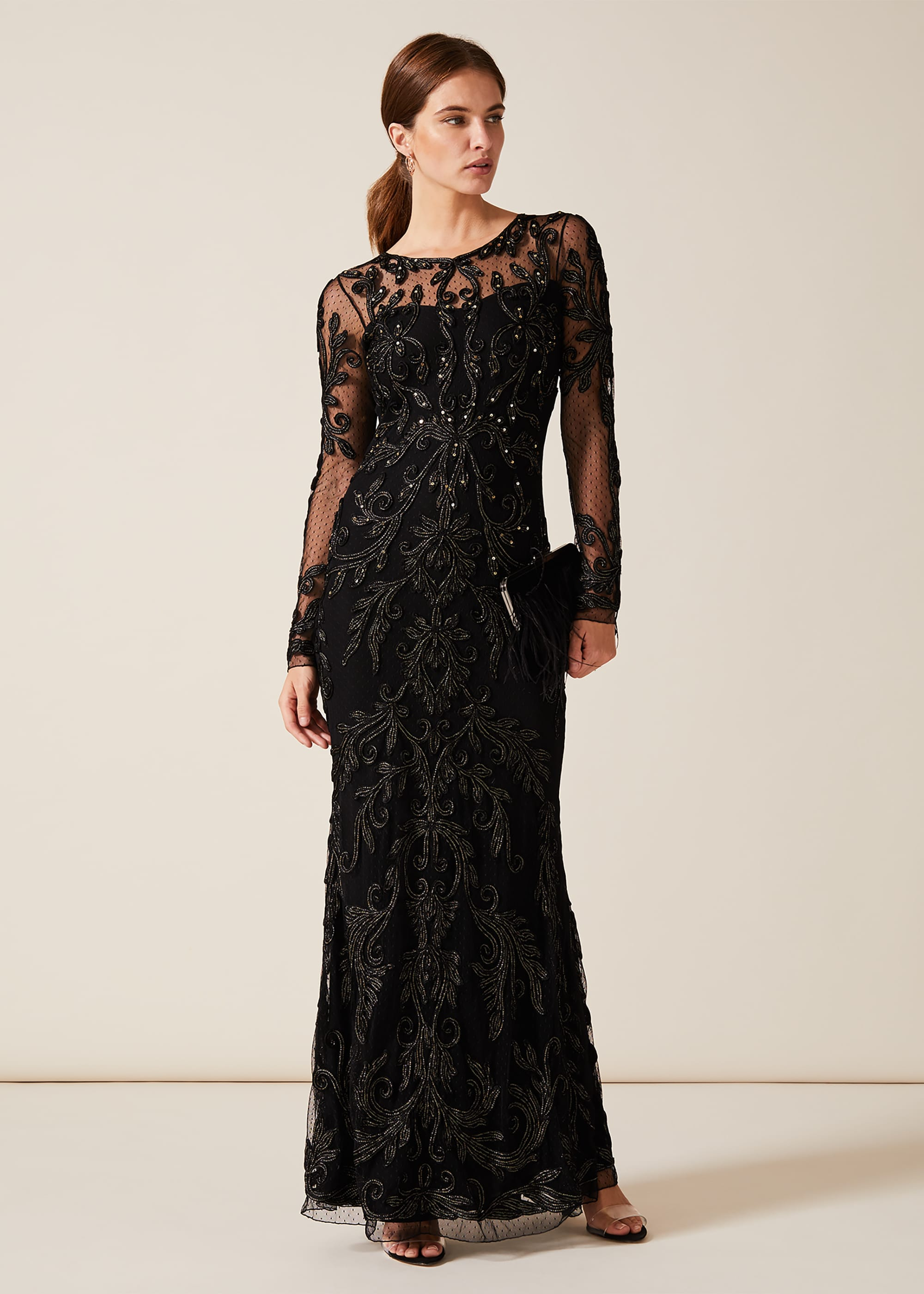 Phase Eight Women Contessa Tapework Lace Dress