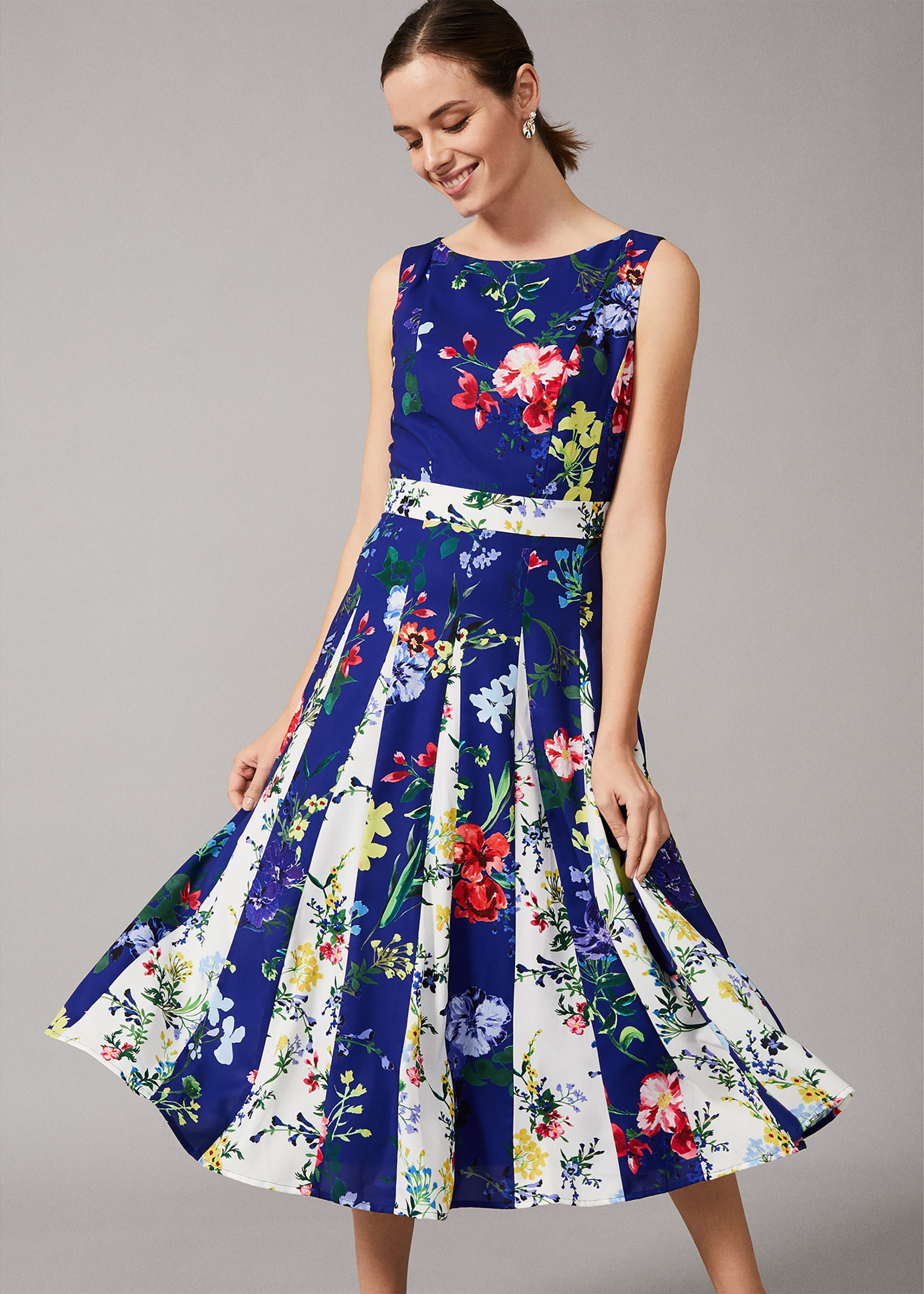 Phase Eight Women Trudy Patched Floral Dress