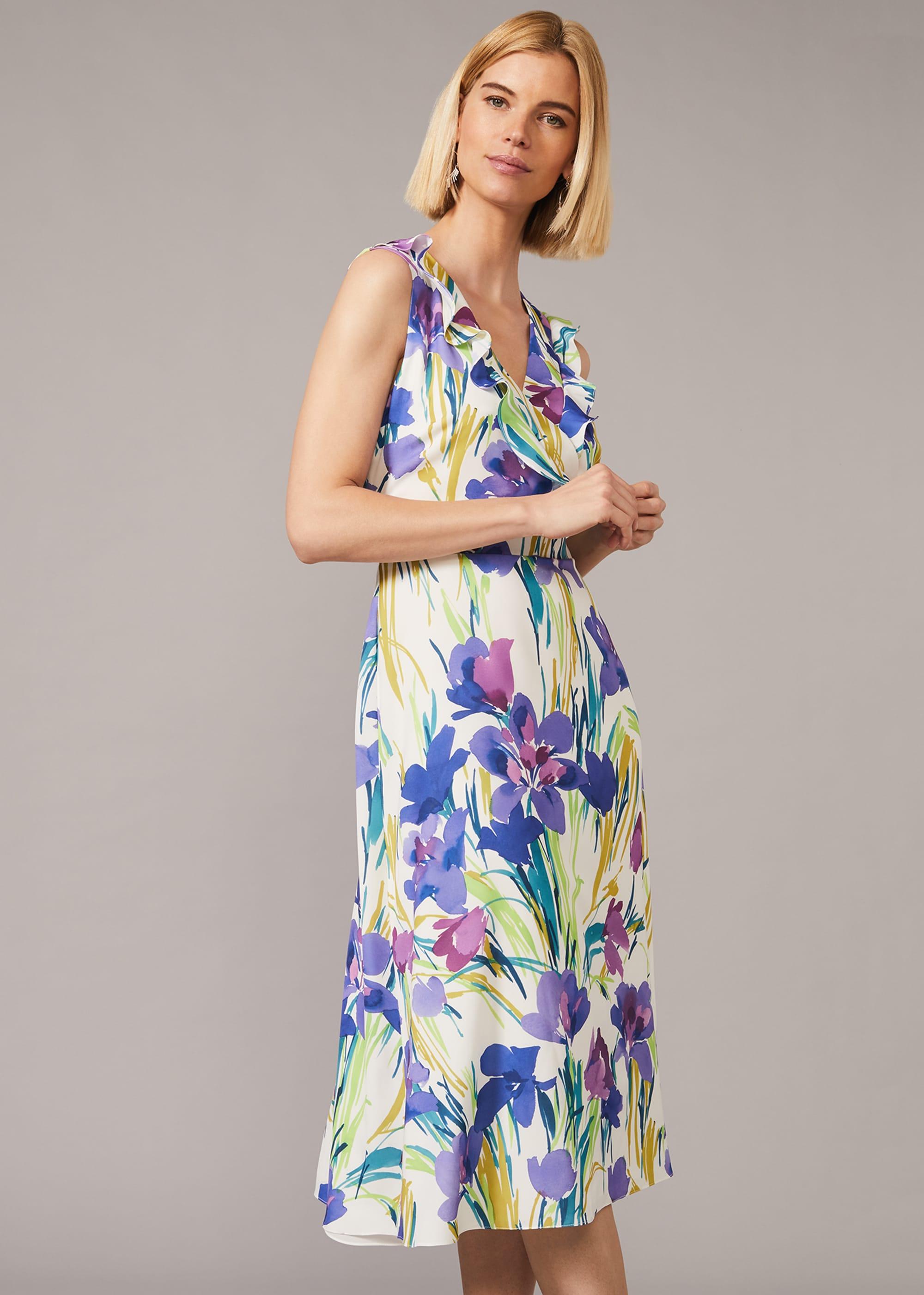 Phase Eight Women Mylen Floral Frill Dress