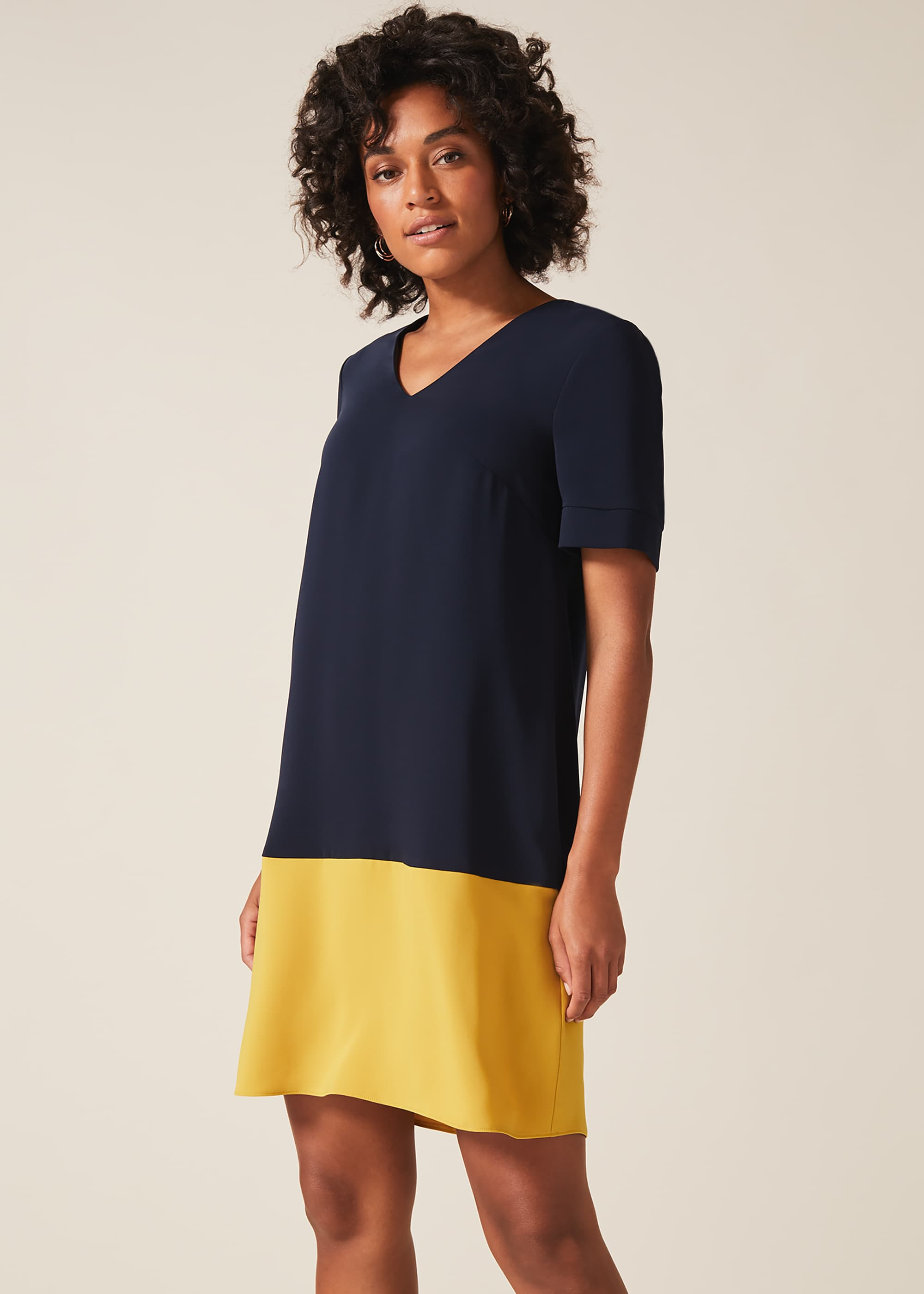 Phase Eight Women Jodie Colourblock Dress