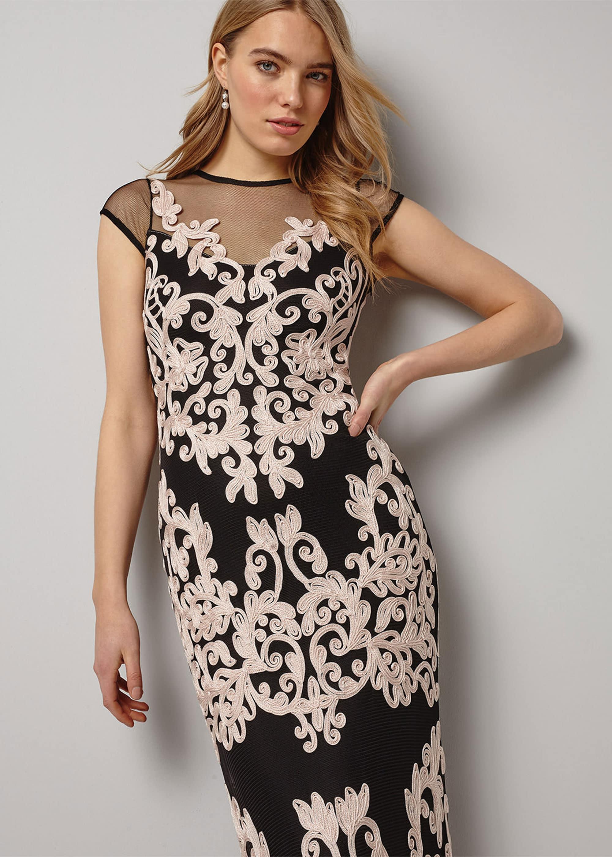 Phase Eight Women Nealie Tapework Maxi Dress