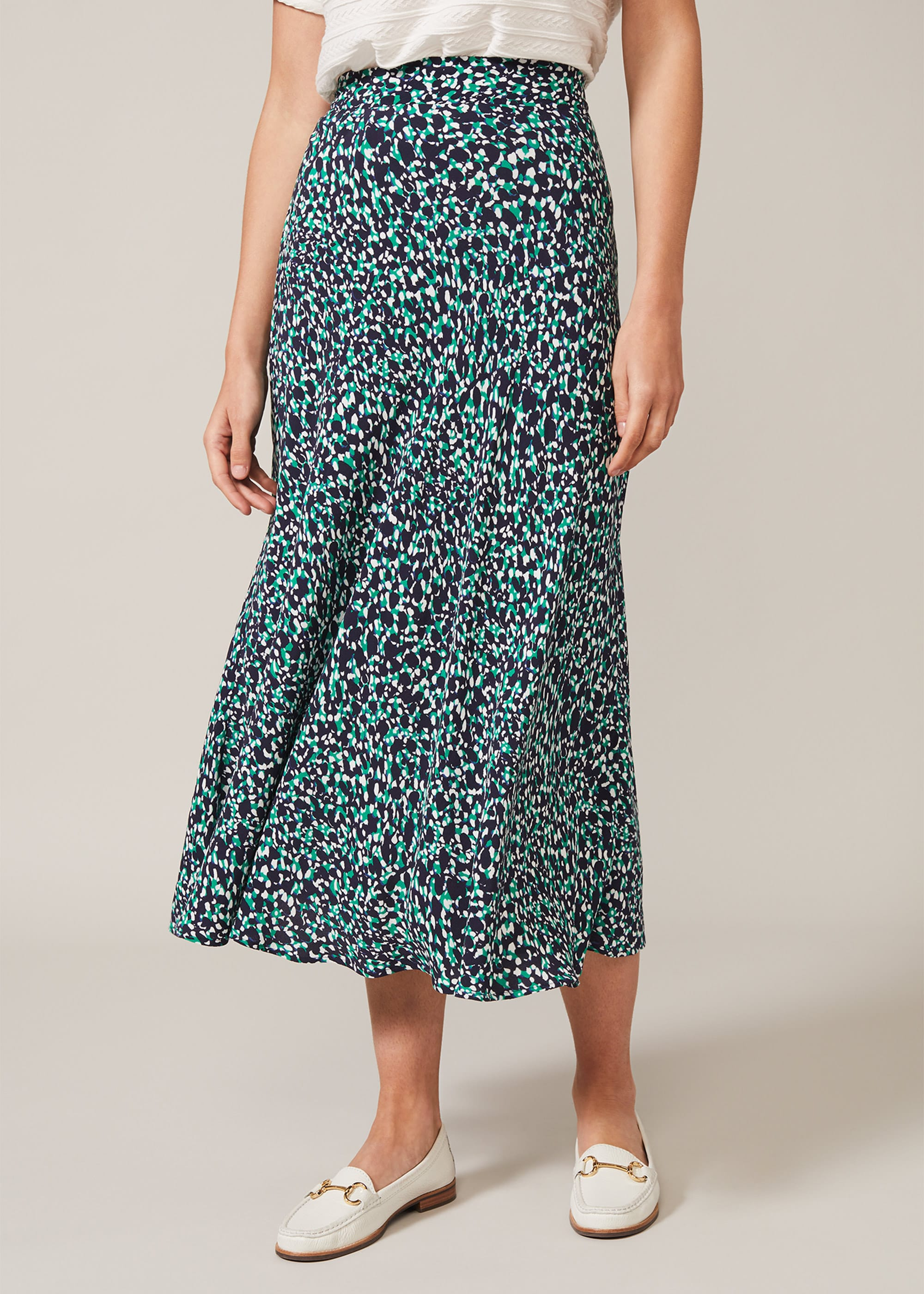 Phase Eight Women Ginni Print Maxi Skirt