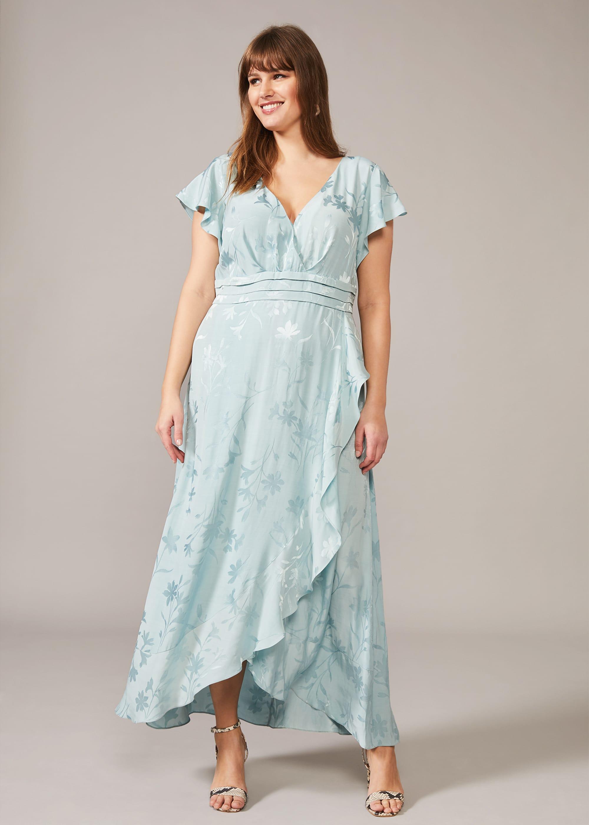Studio 8 Women Rosie Floral Jacquard Maxi Dress